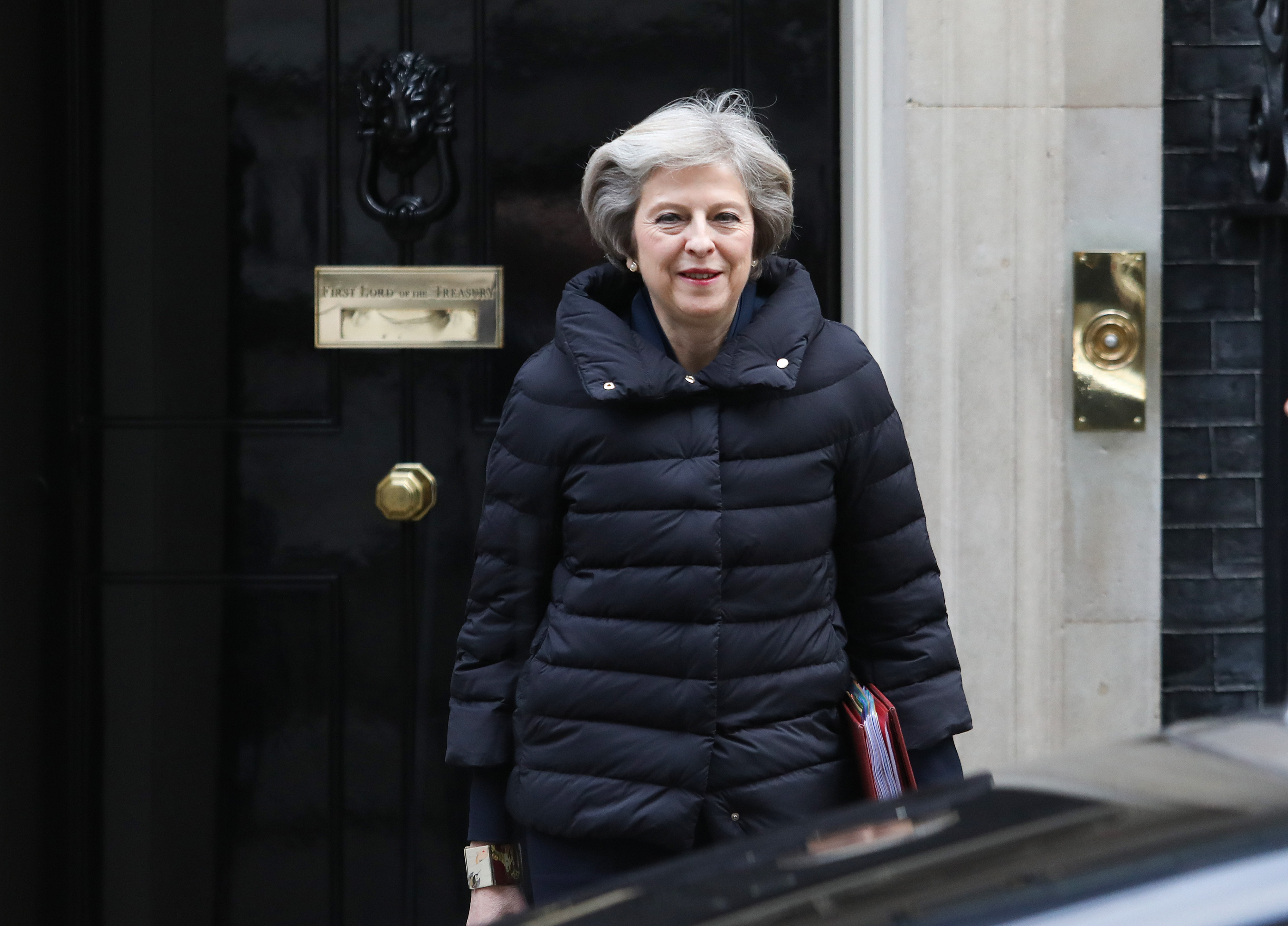 U.K. Prime Minister Theresa May Attends Weekly Question Time