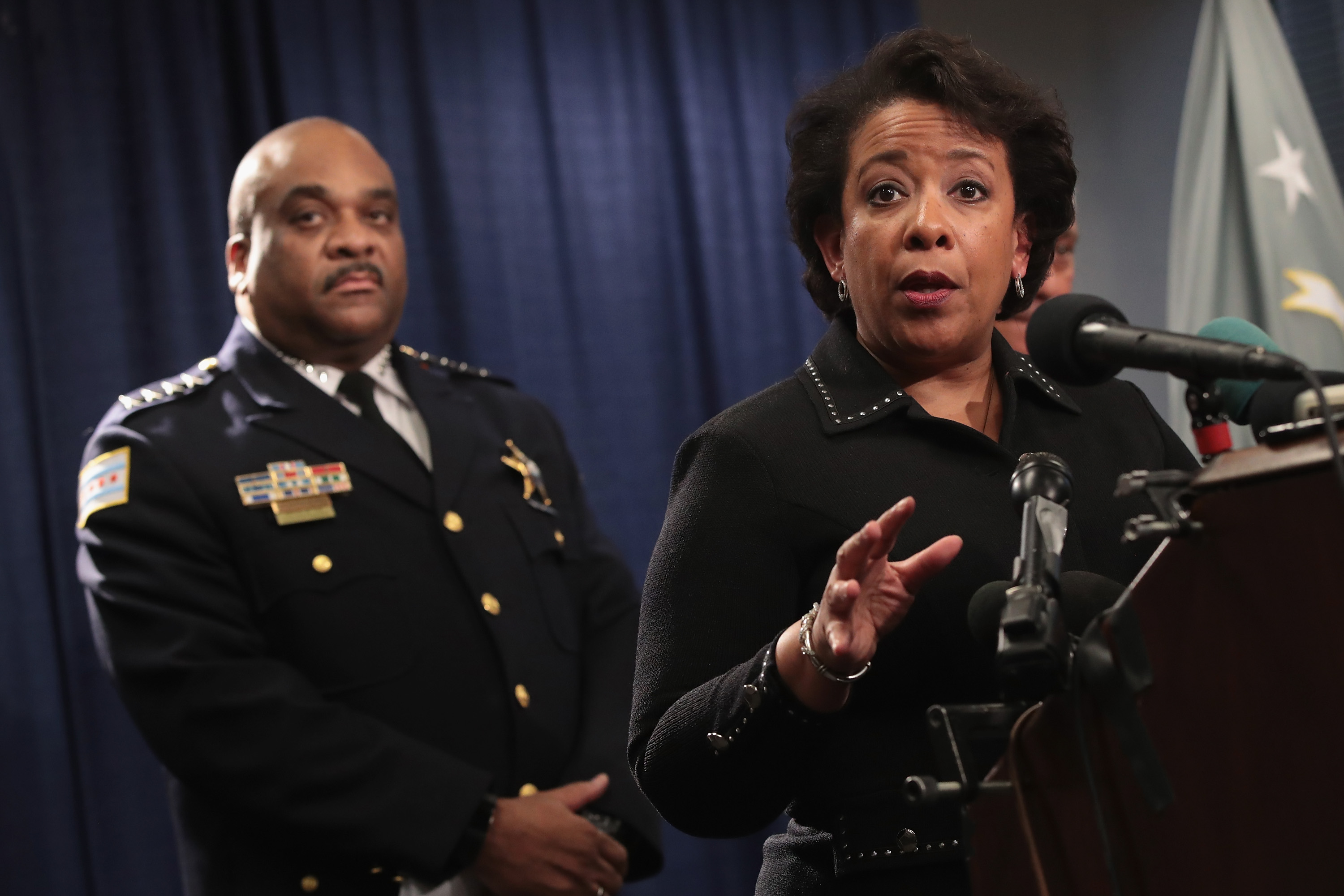 Attorney General Loretta Lynch Announces Findings Of Investigation Into Chicago Police Department