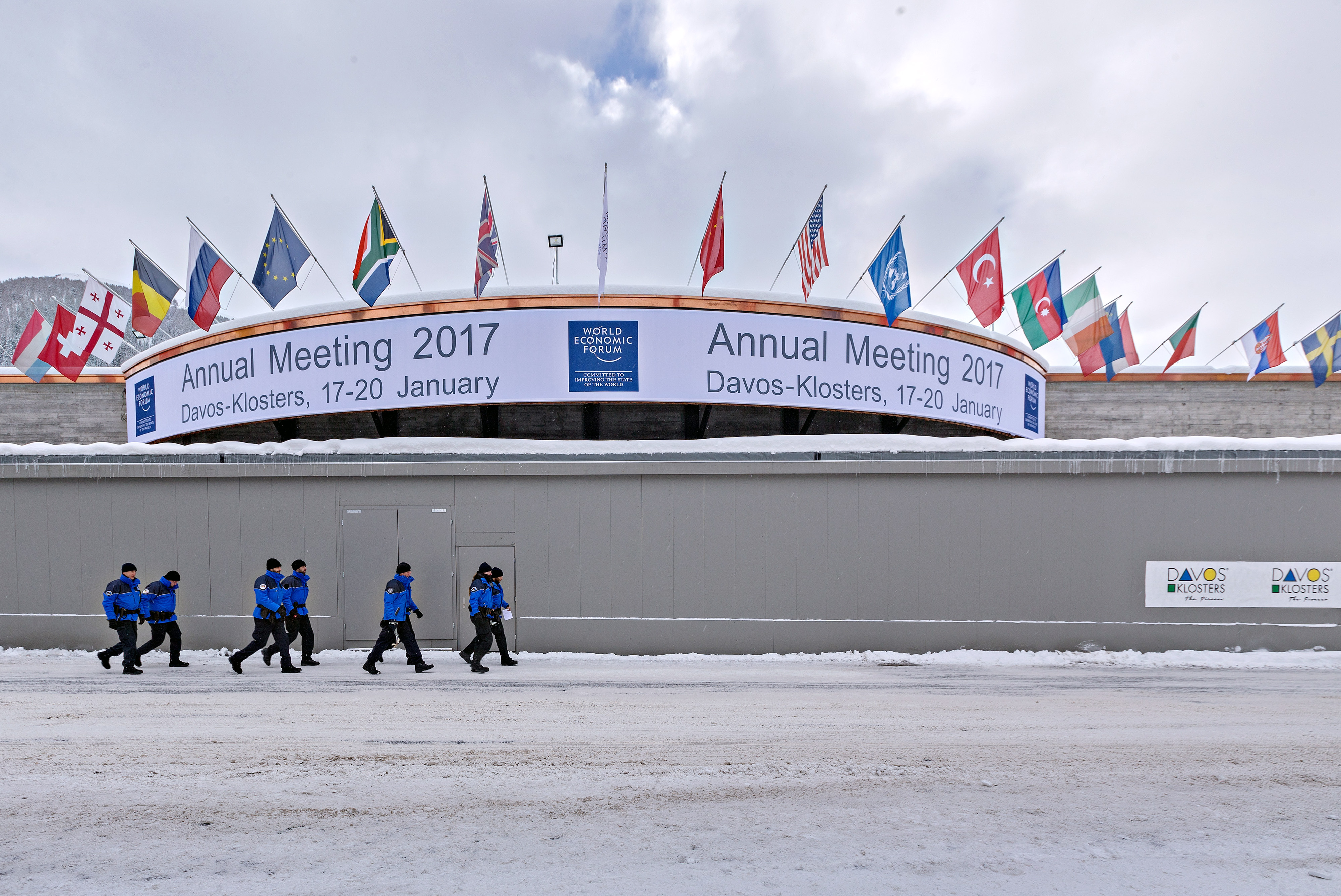 General Views Of Davos Ahead Of The World Economic Forum (WEF) 2017