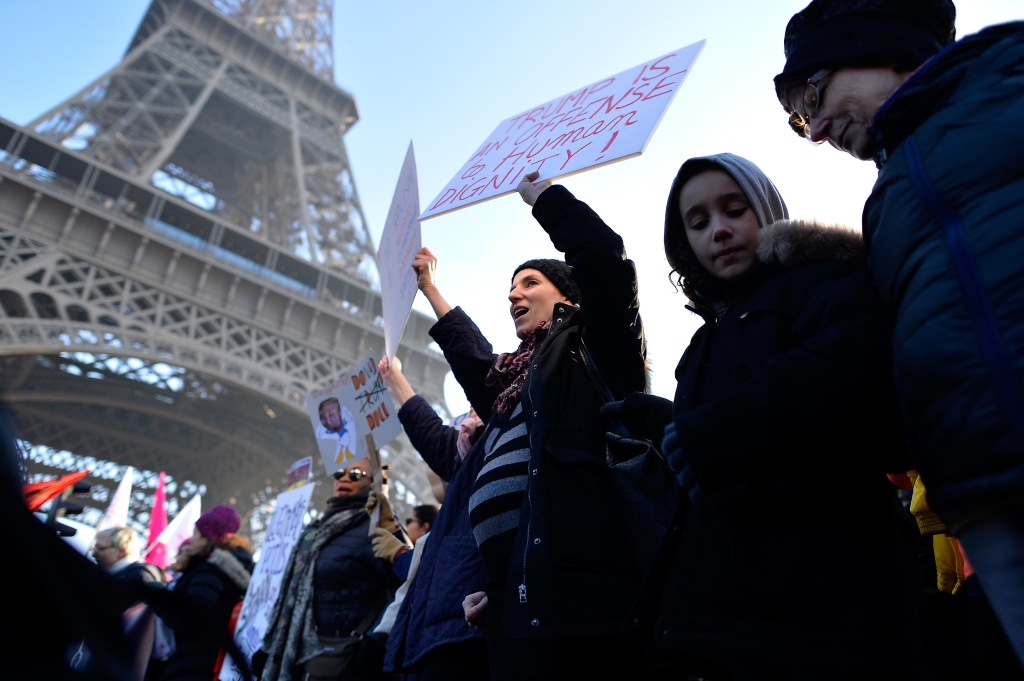 Women's March In Paris