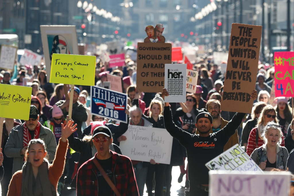 Women's March Held In Chicago