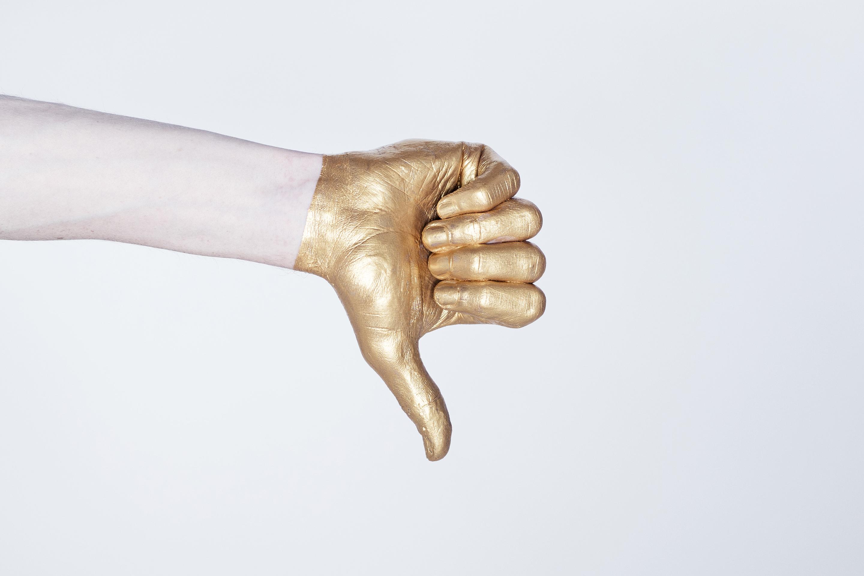Gold thump down