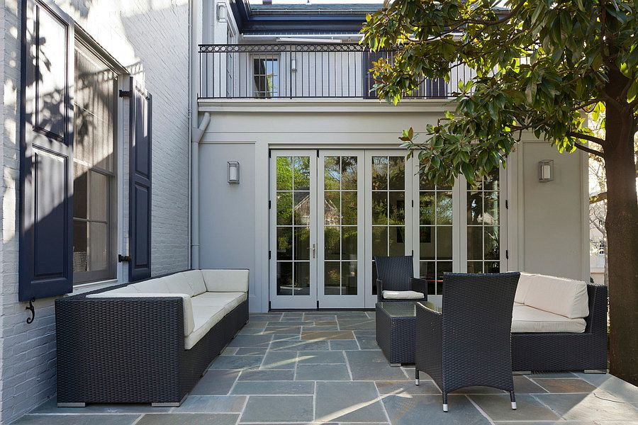 Ivanka Trump house patio