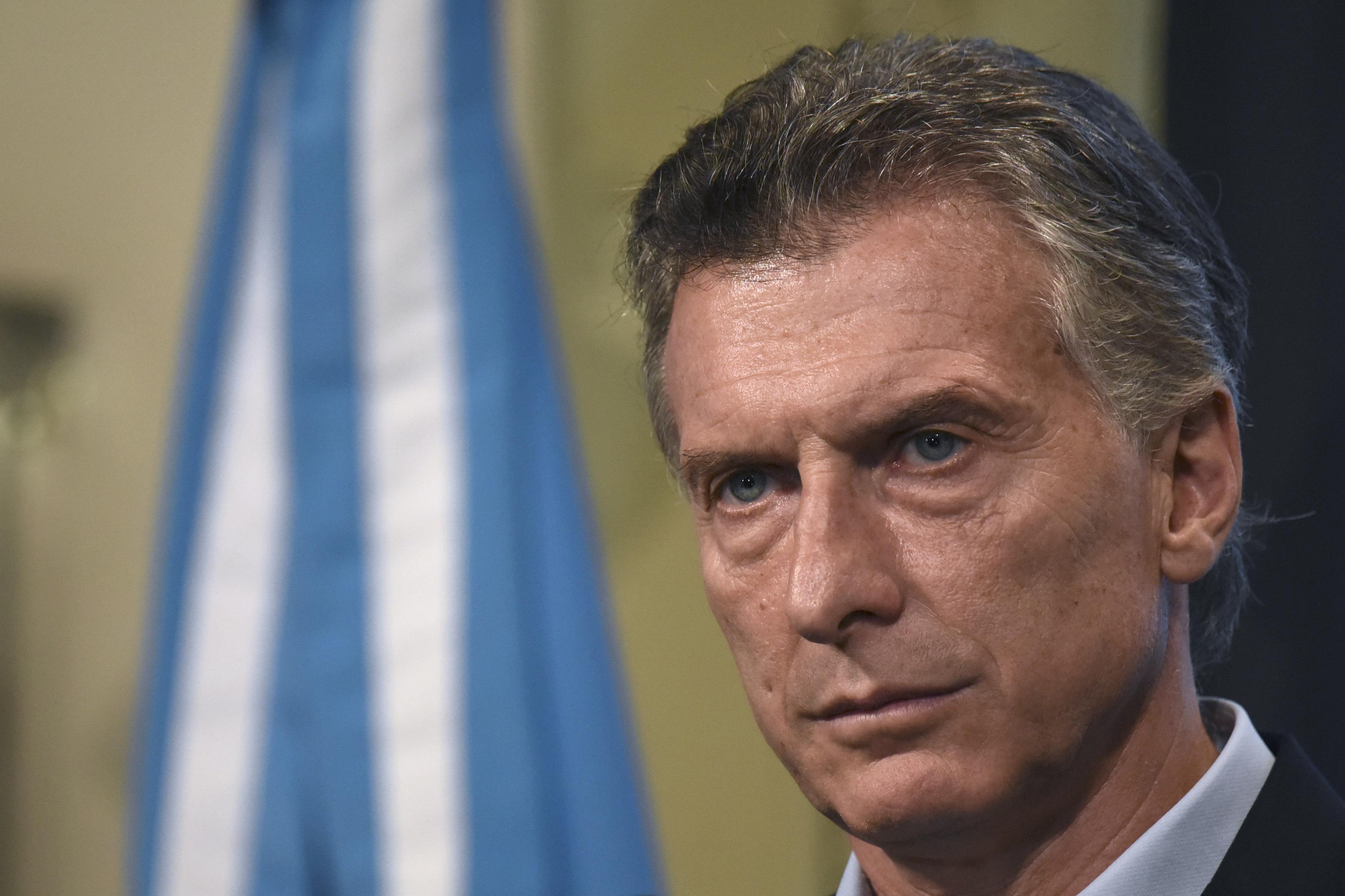ARGENTINA-POLITICS-MACRI
