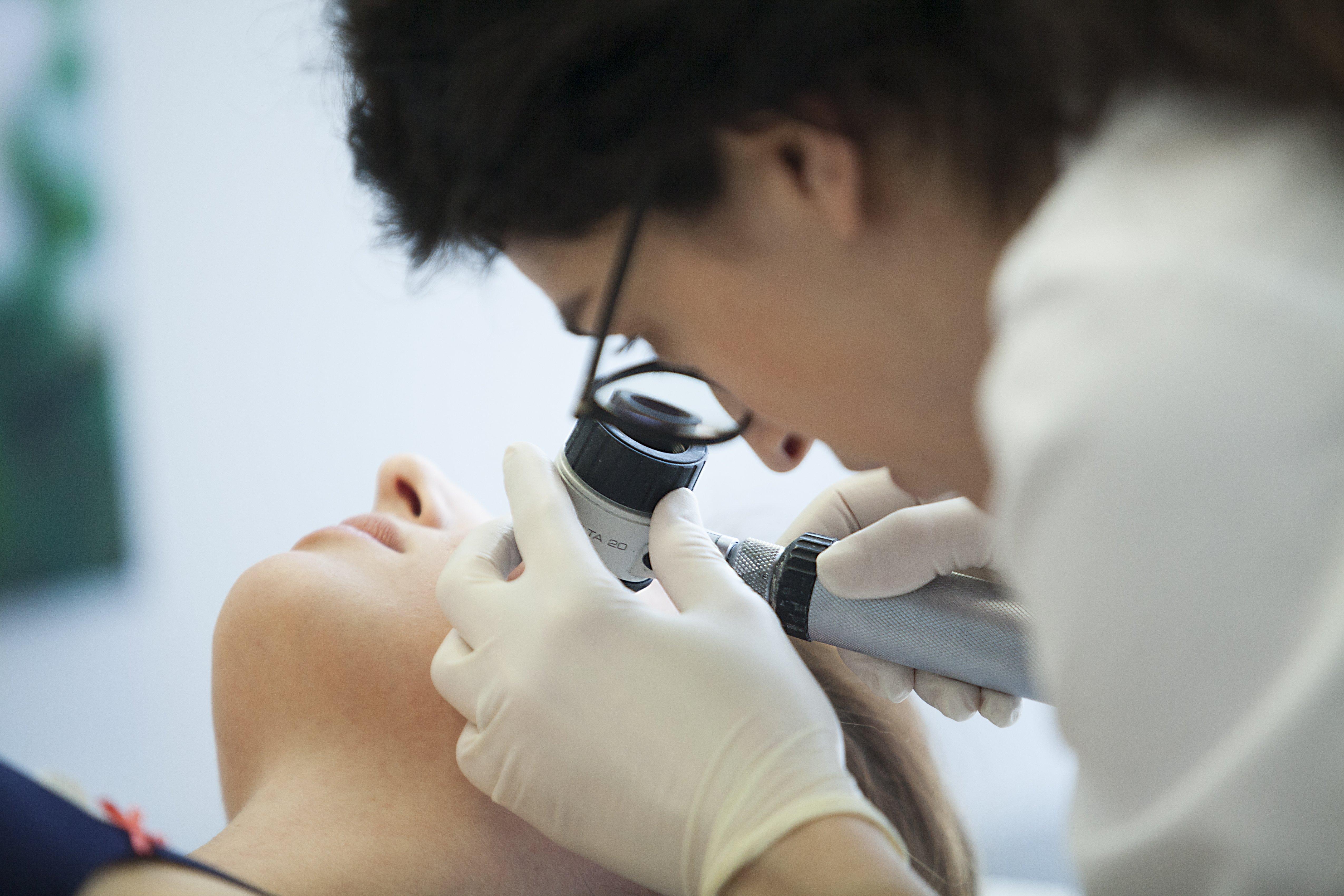 Dermatology consultation.