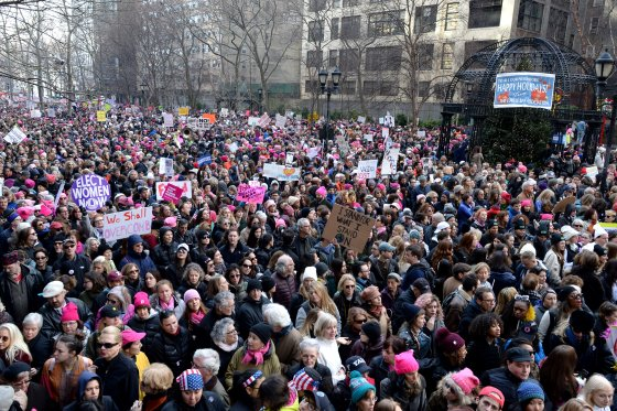 2017 Women's March - Sister March In New York