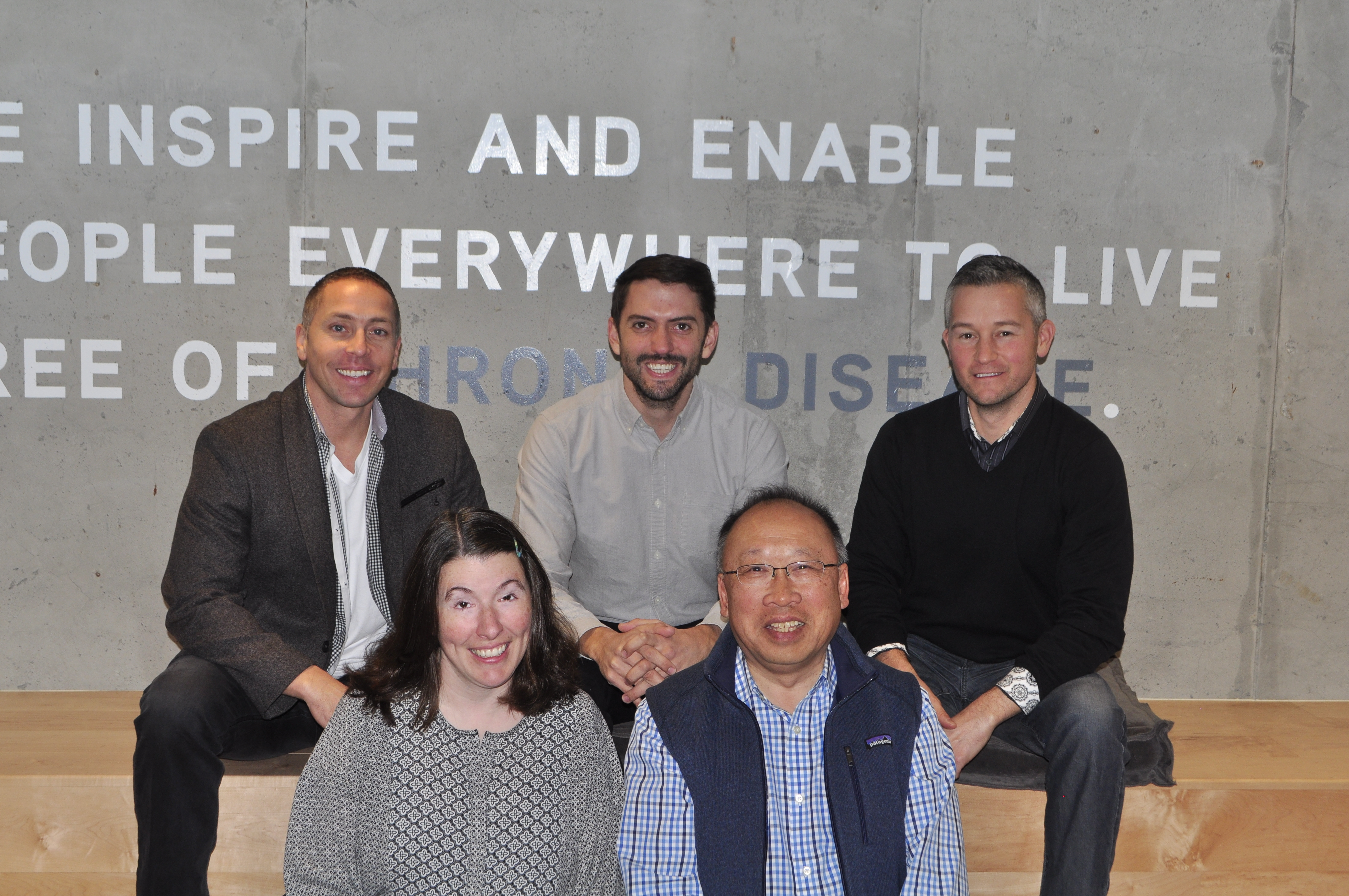 The new team members include Dr. Paul Chew (bottom right) and Tom Schoenherr (top left).