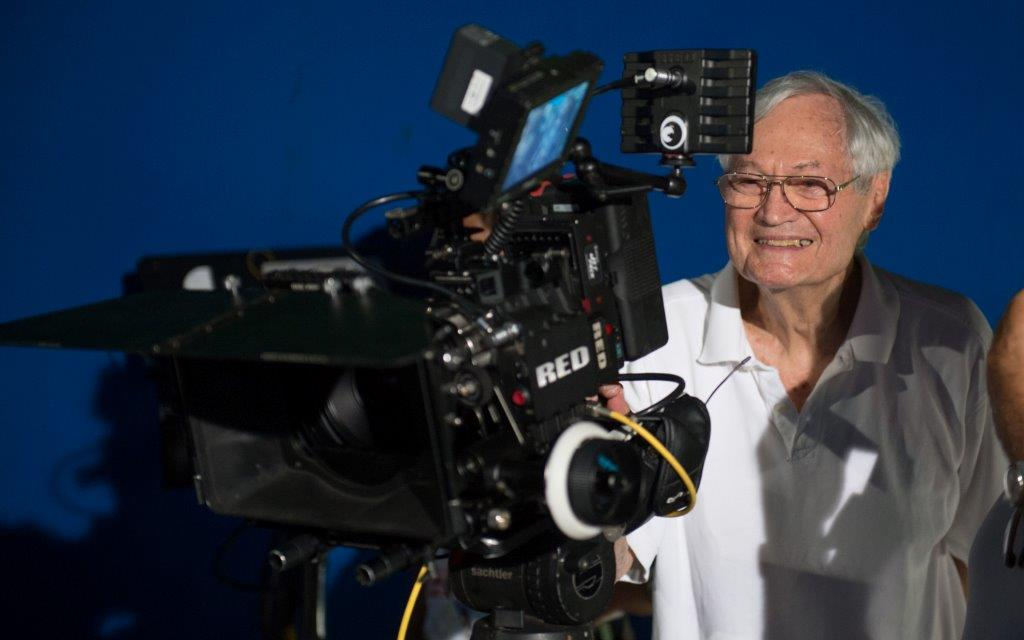 Hollywood director and producer Roger Corman.