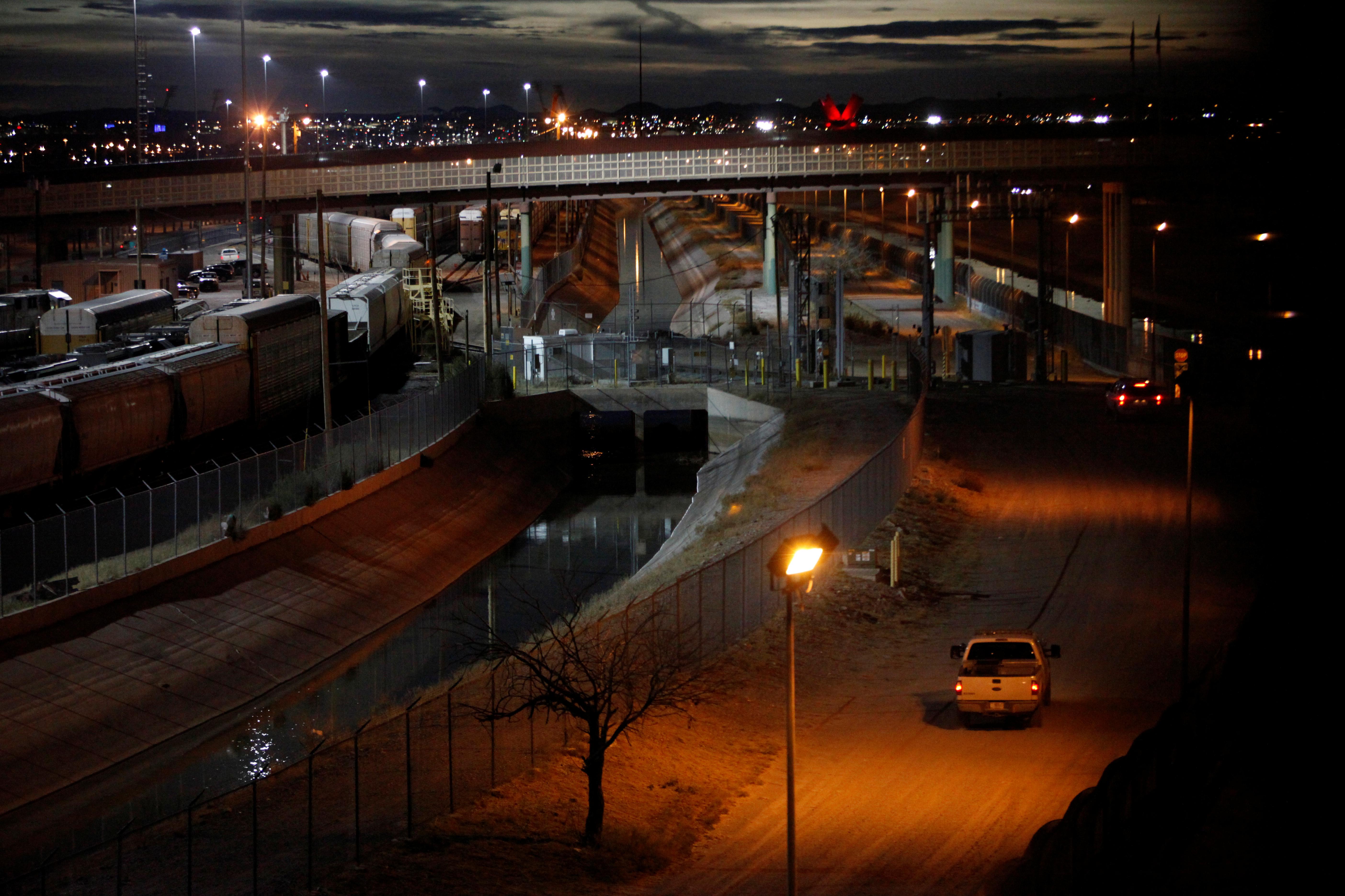 The international border bridge Stanton is seen between El Paso US and Ciudad Juarez in Ciudad Juarez, Mexico