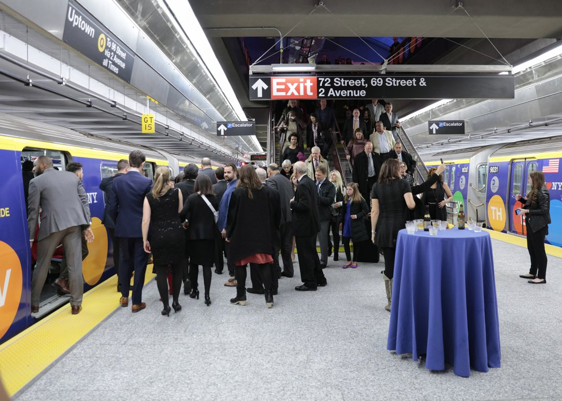 Opening of the Second Avenue Subway