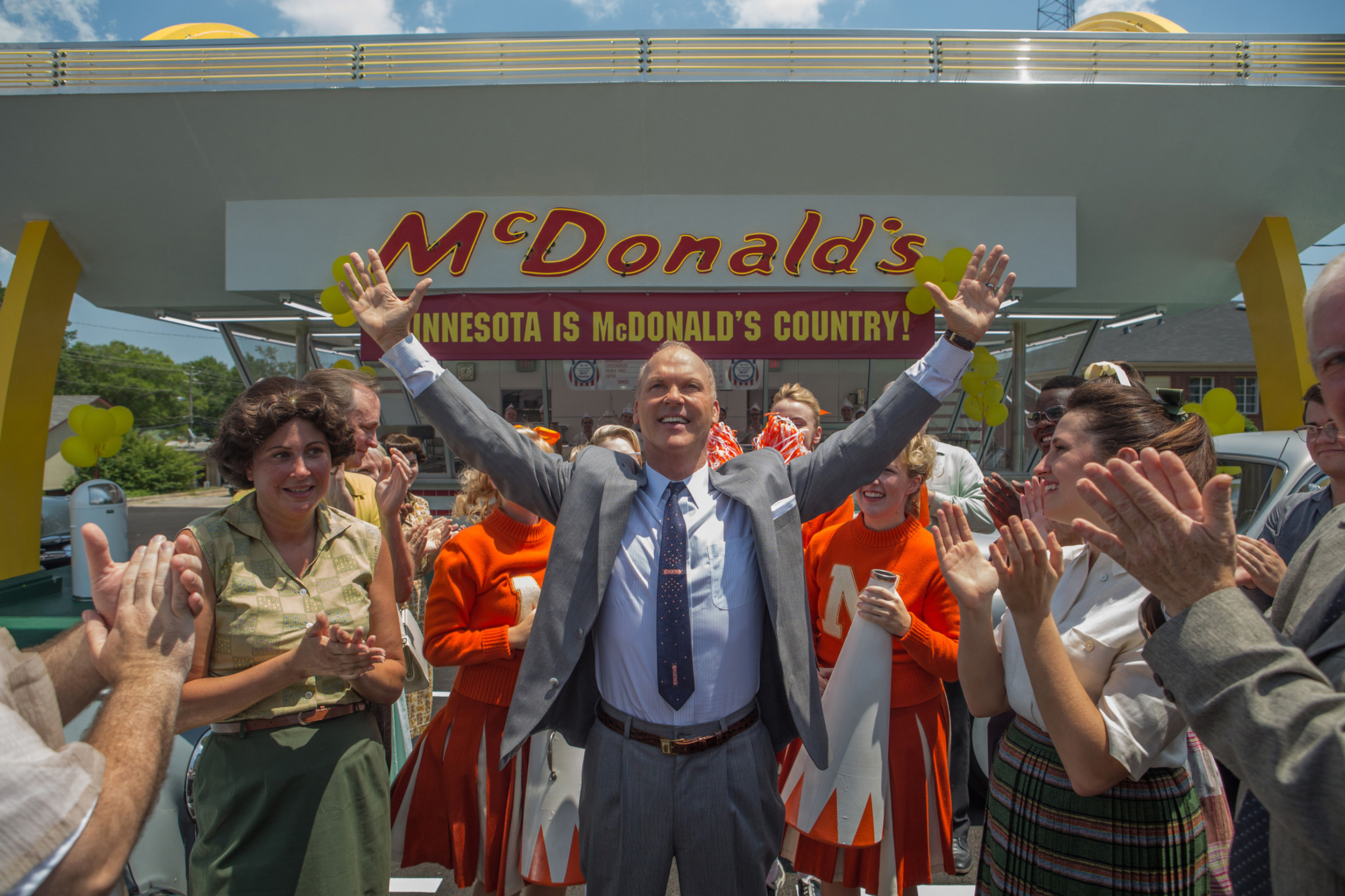 Michael Keaton as Ray Kroc in 'The Founder'.
