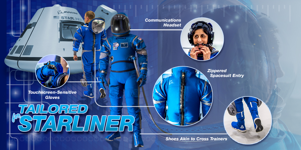 The new Starliner spacesuit from Boeing