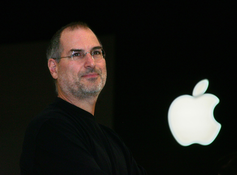 Apple computer chief executive Steve Job