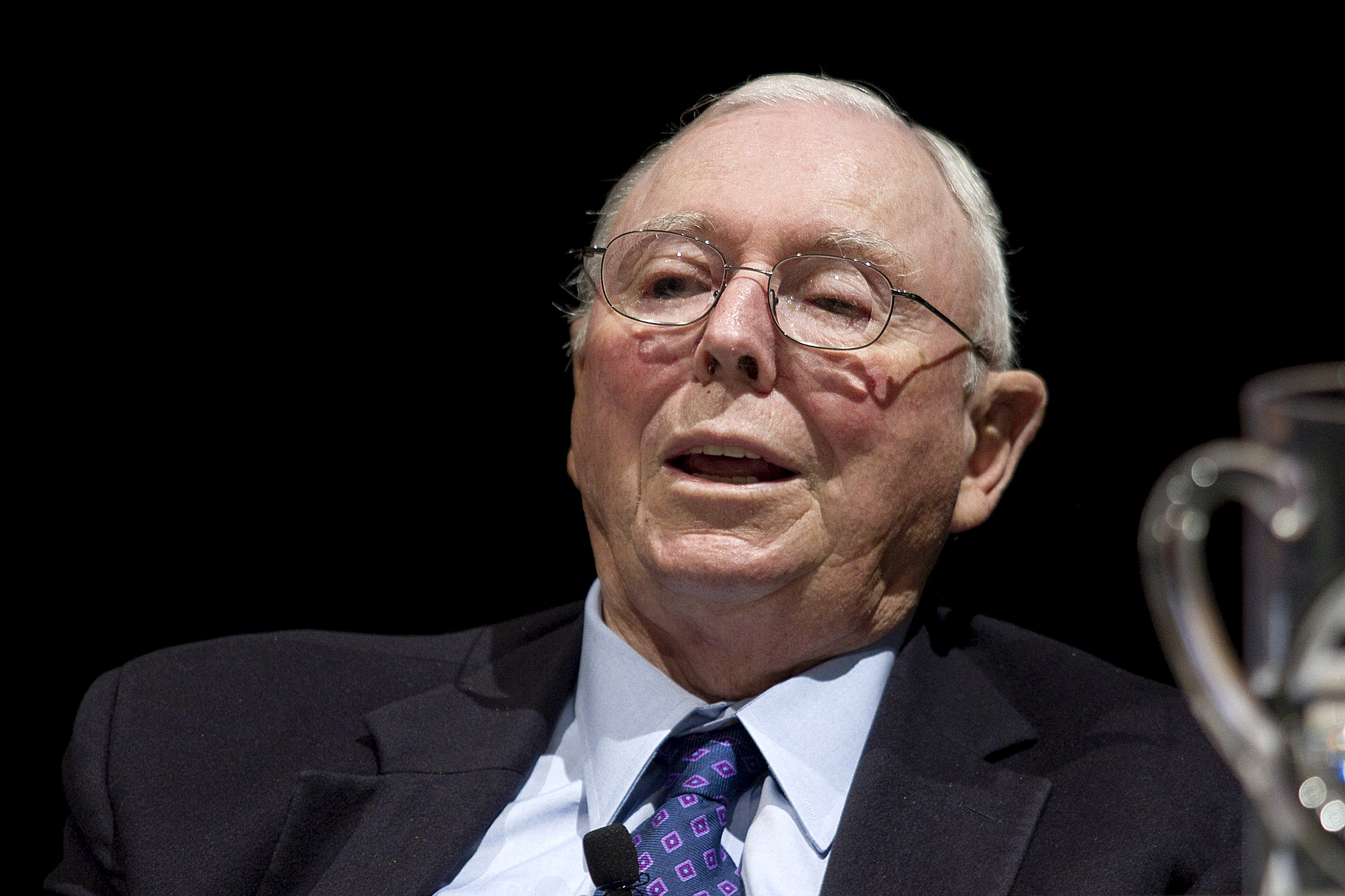 "Berkshire Hathaway Inc.'s Charles Munger Hosts ""A Morning With Charlie"""
