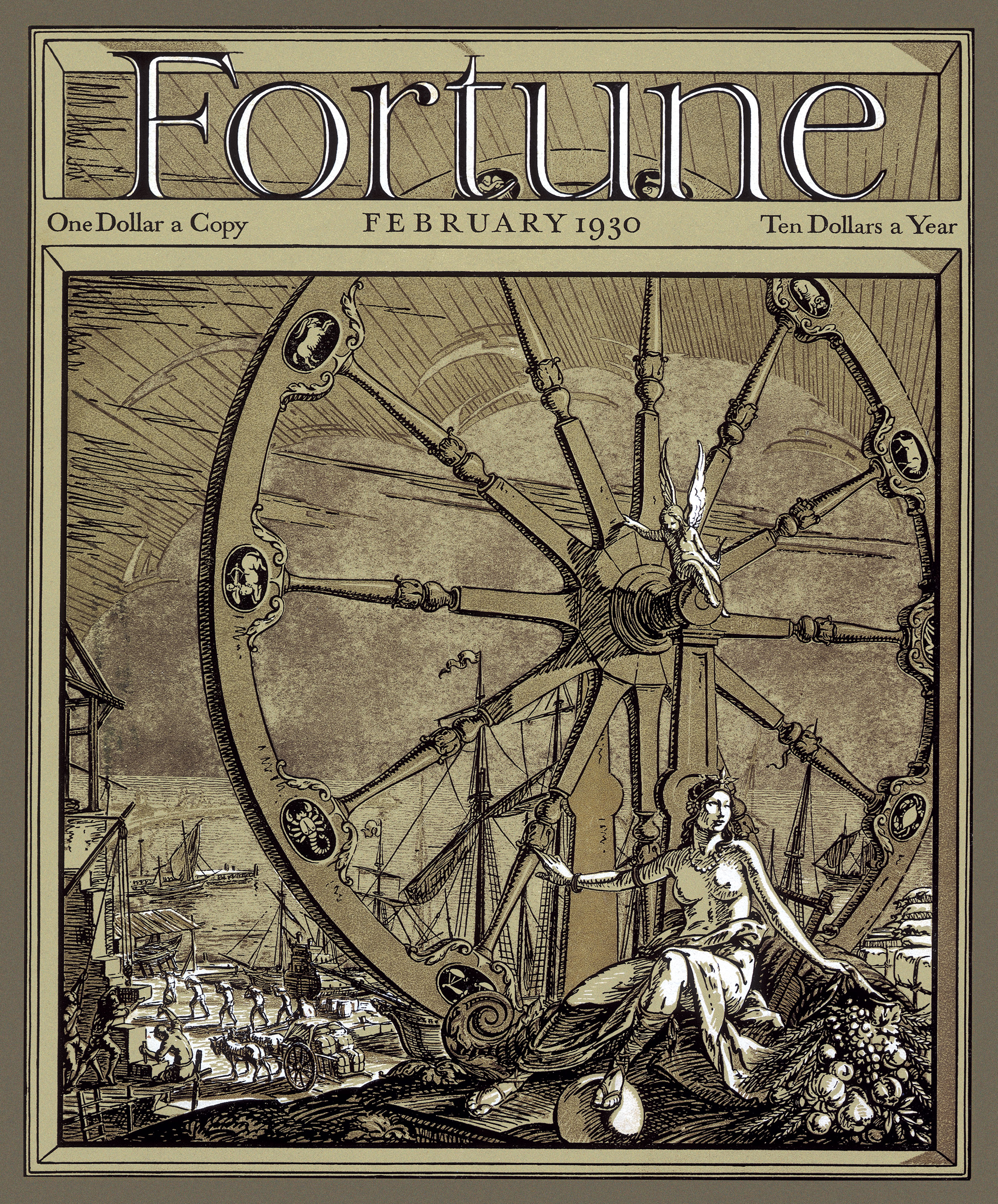 Fortune's first cover.