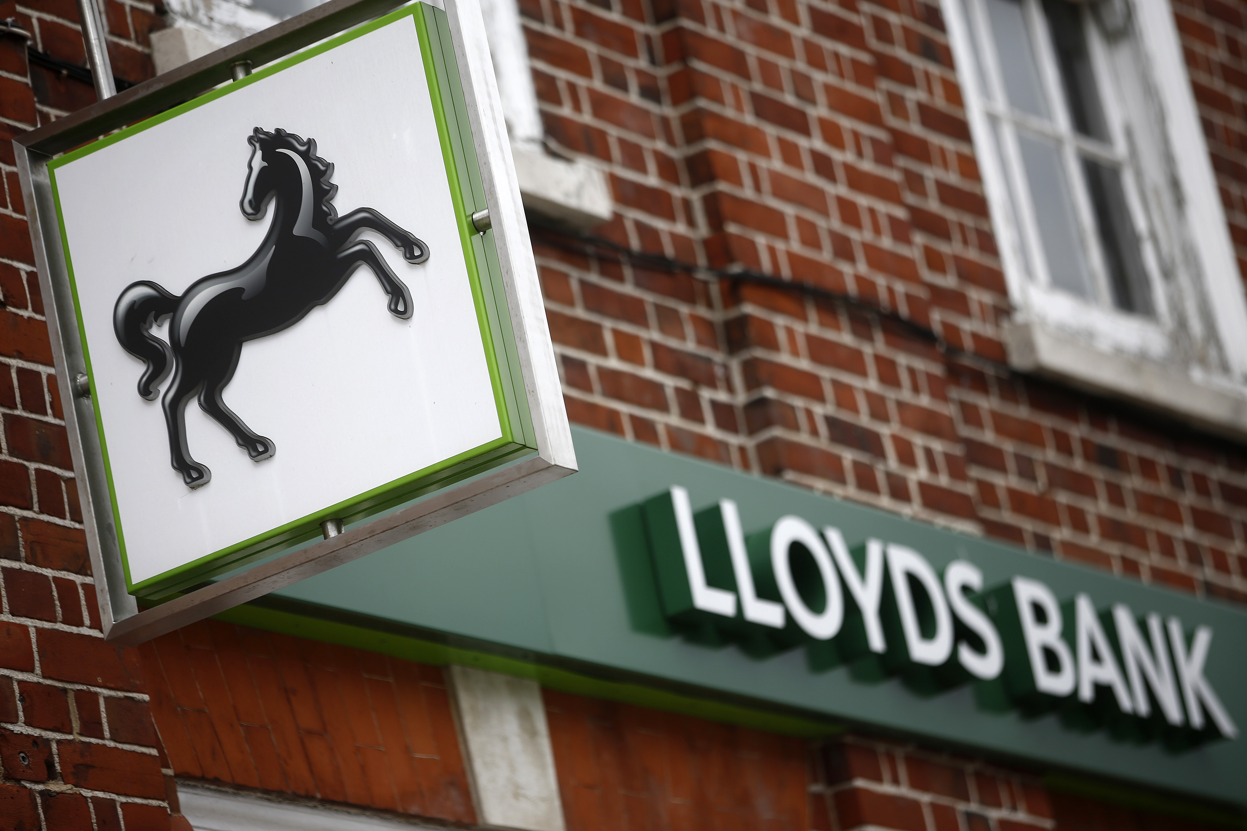Lloyds Banking Group Plc Bank Branch Ahead Of Earnings