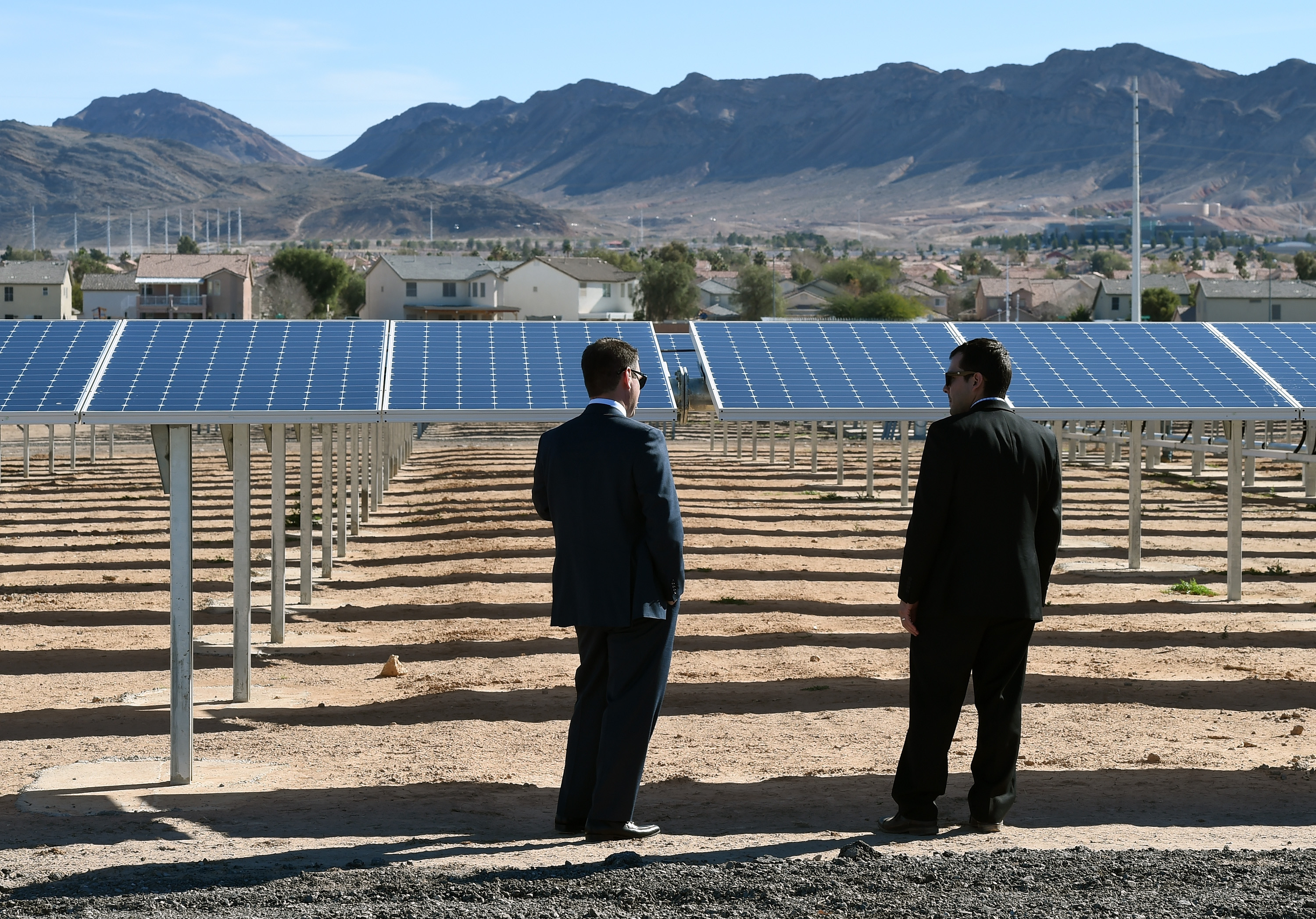 Nellis Air Force Base Commemorates Opening Of Solar Array
