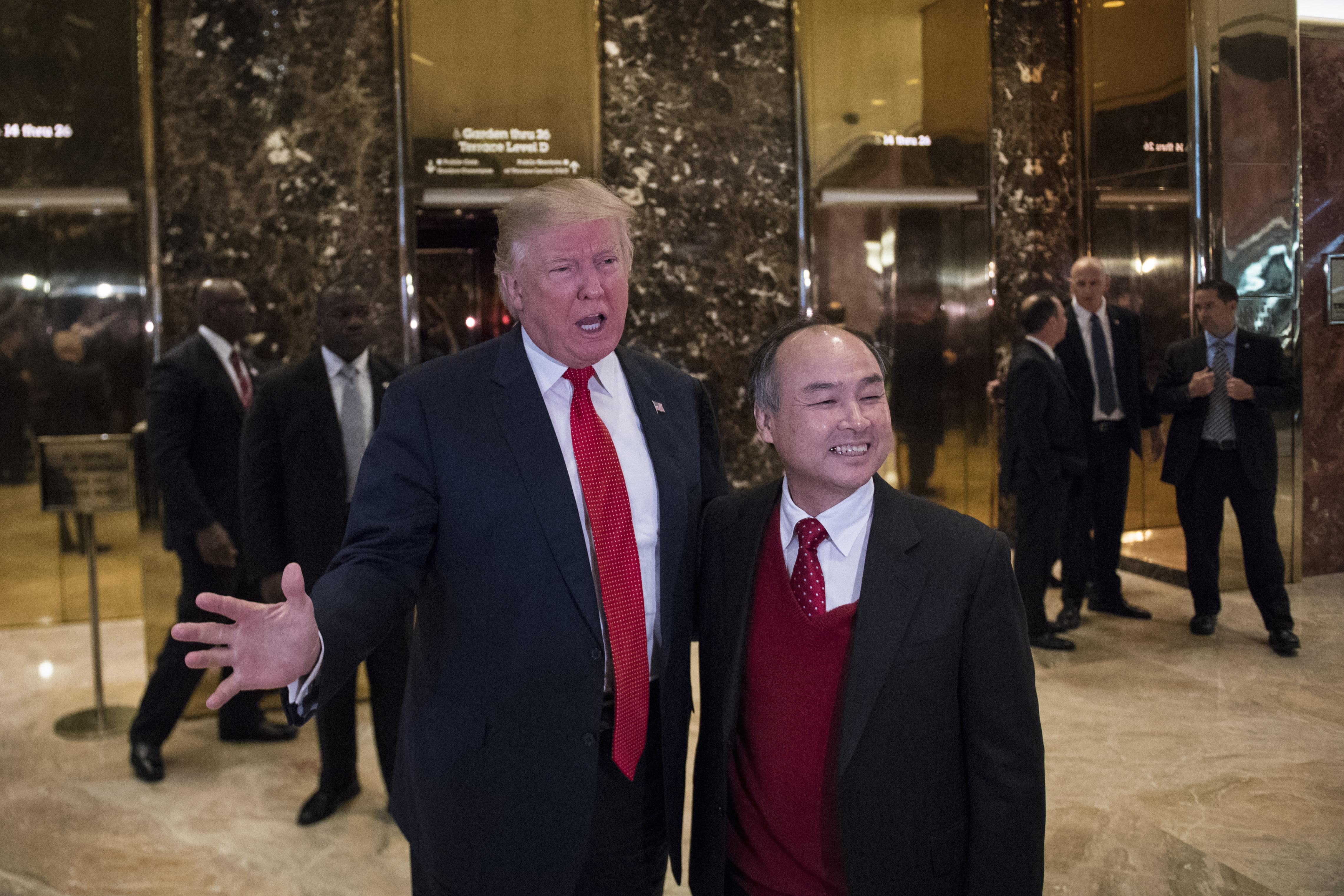 Republican presidential-elect Donald Trump