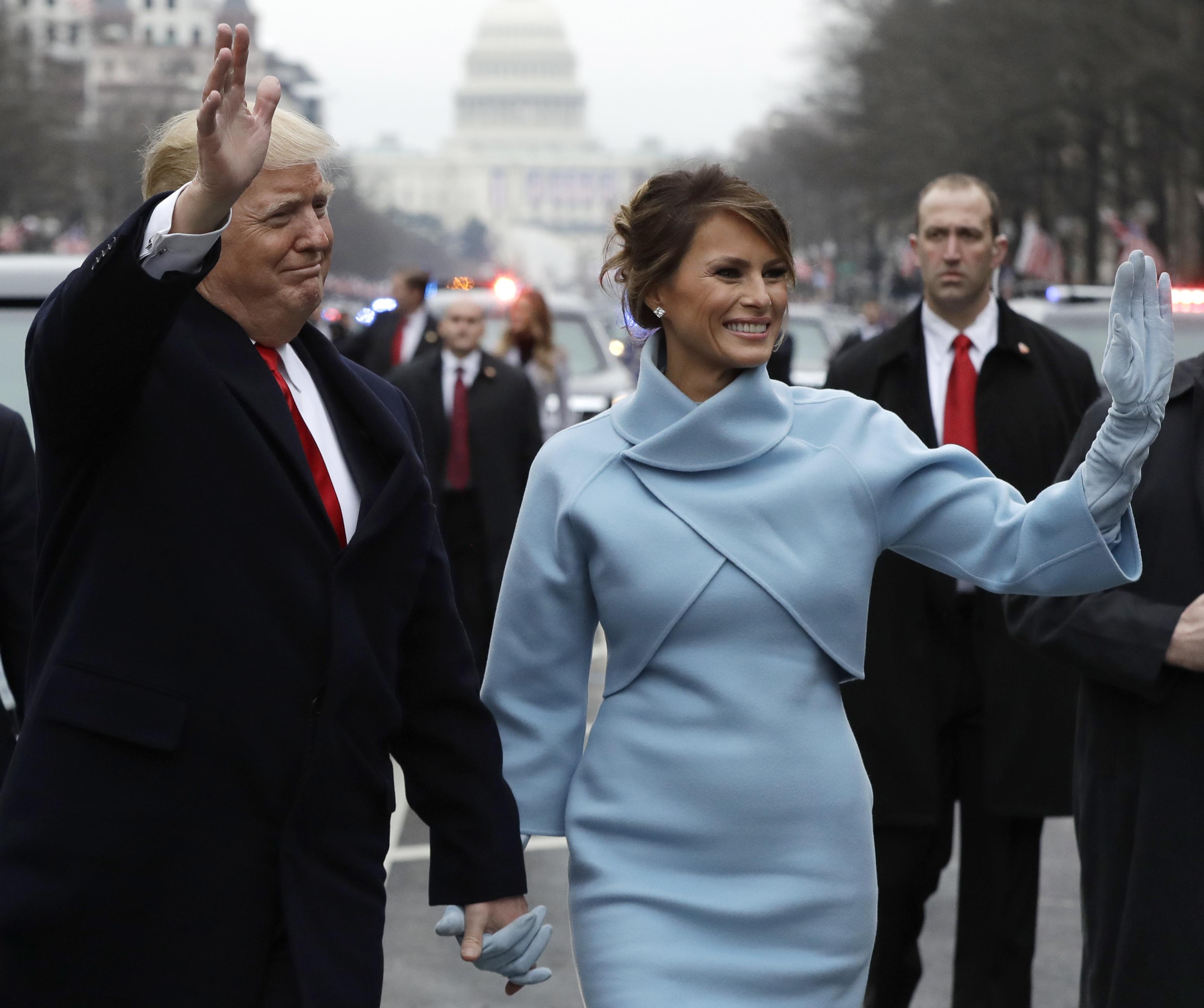 Parade Celebrates Presidential Inauguration Of Donald Trump