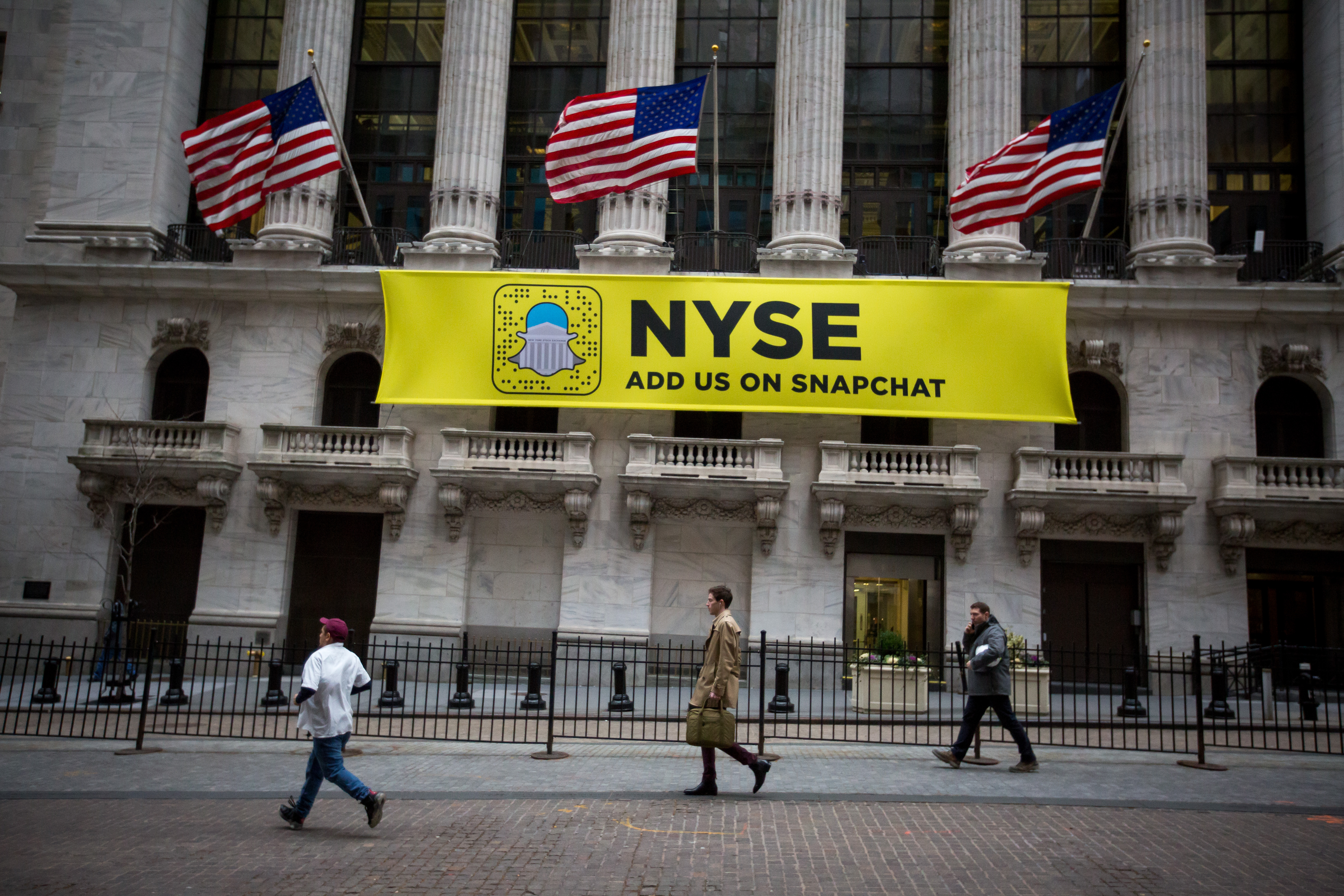 Trading On The Floor Of The NYSE As U.S.Stocks Fall With Industrials On Trump Border Tax Comments