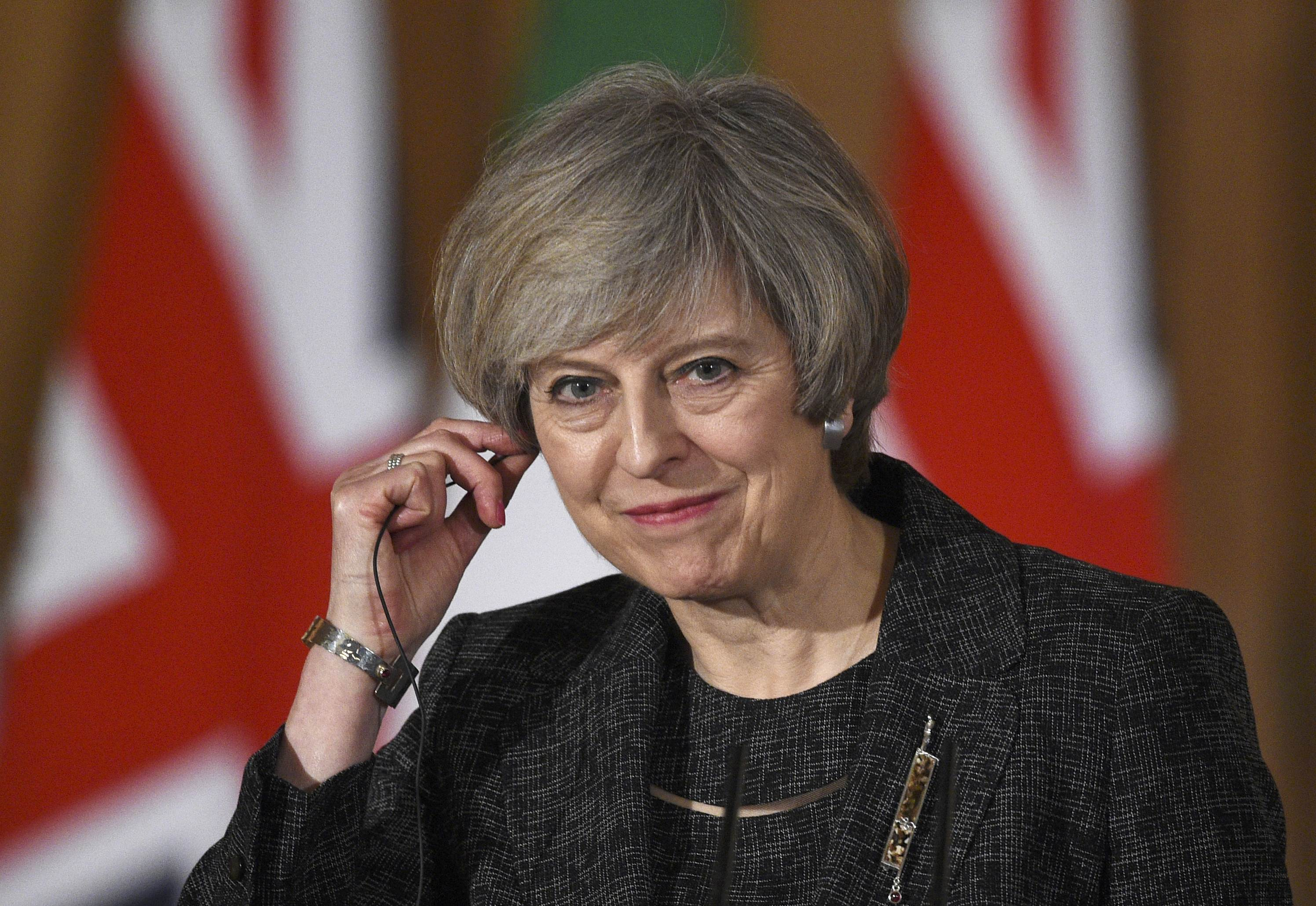 Theresa May - Paolo Gentiloni meeting in London
