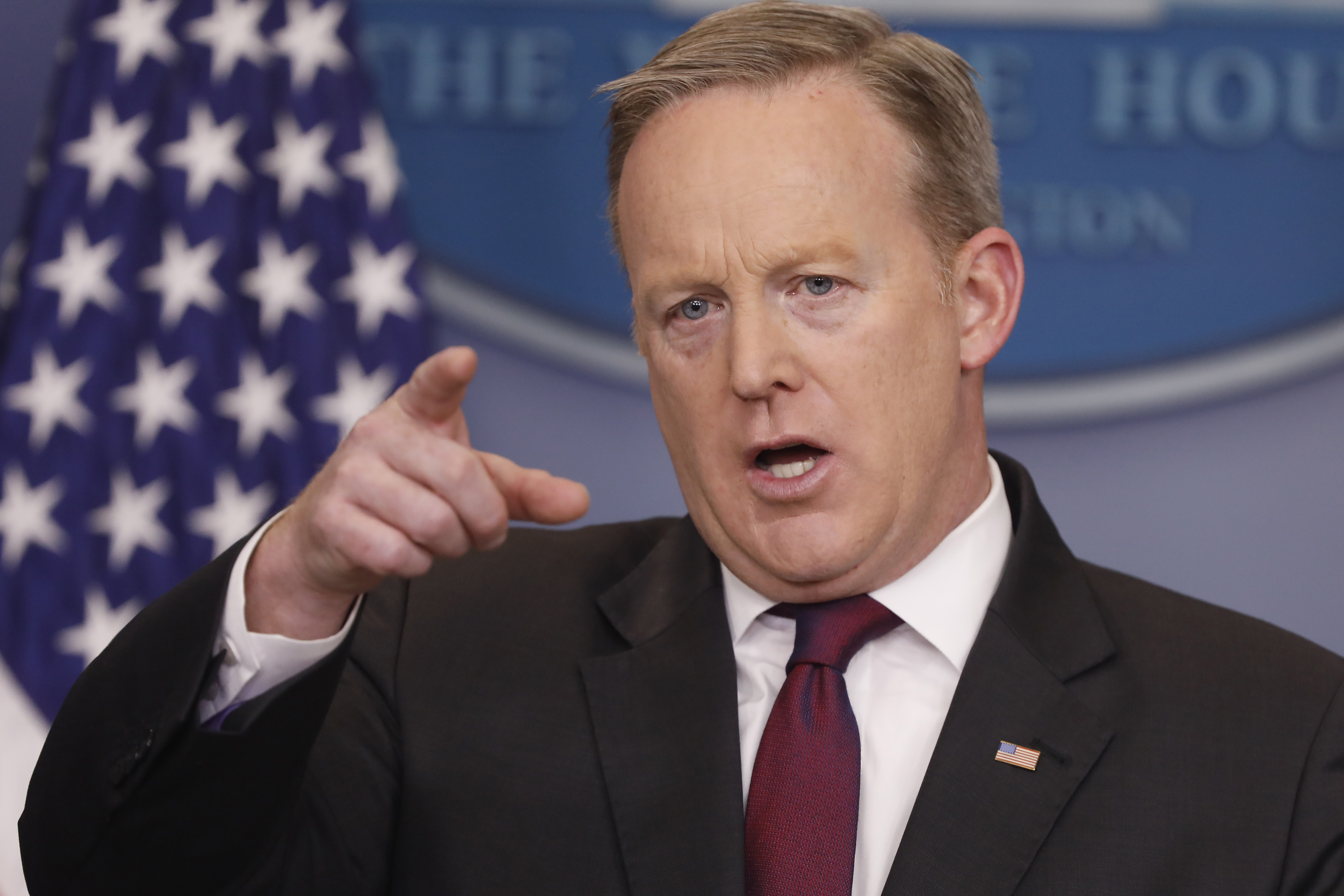 Press Secretary Sean Spicer Holds Daily Press Briefing