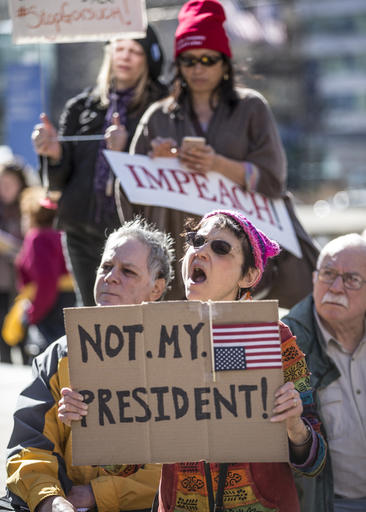 Presidents Day Protests Philadelphia