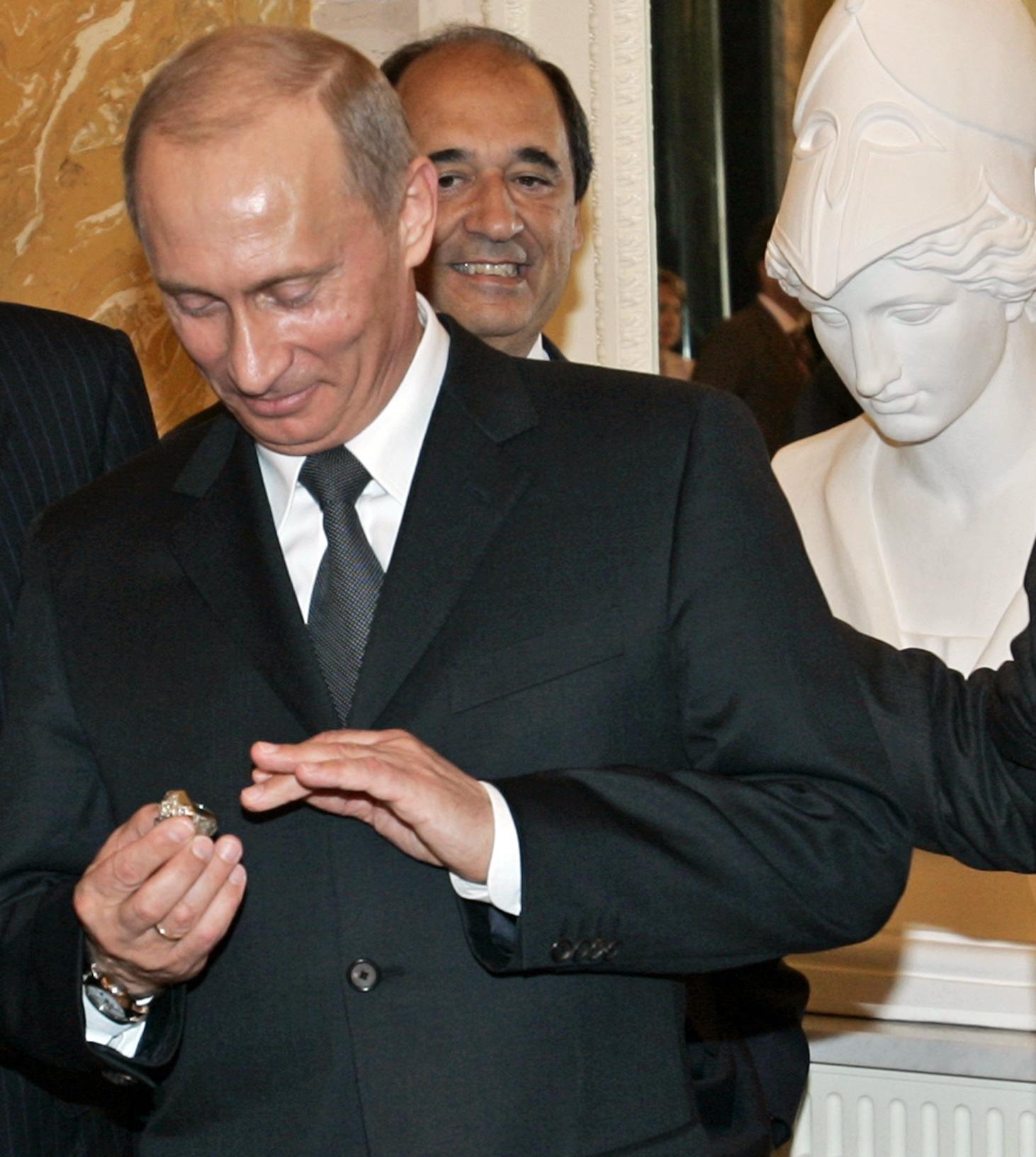 Putin Super Bowl Ring Football