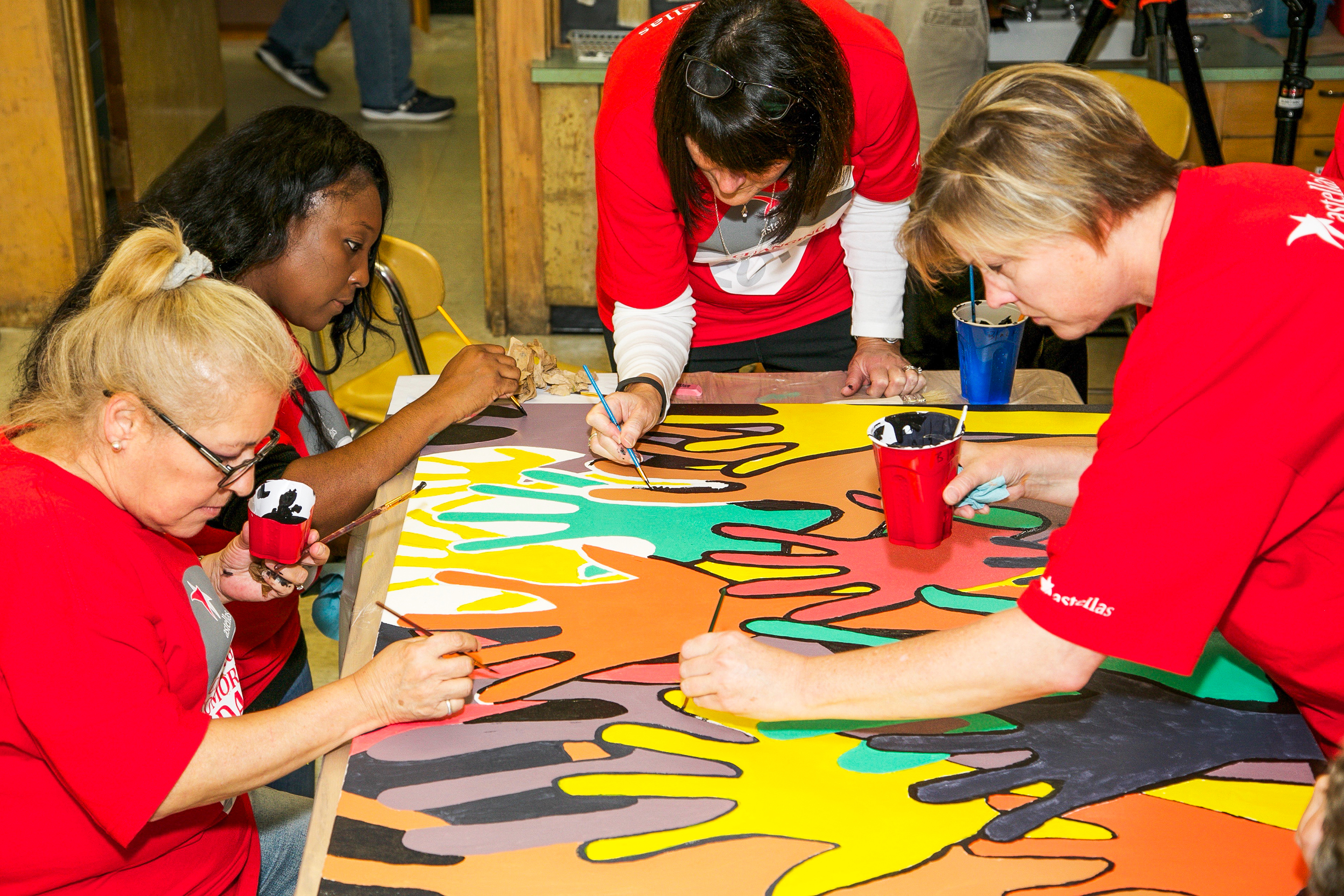 Best Workplaces for Giving Back 2017- Astellas