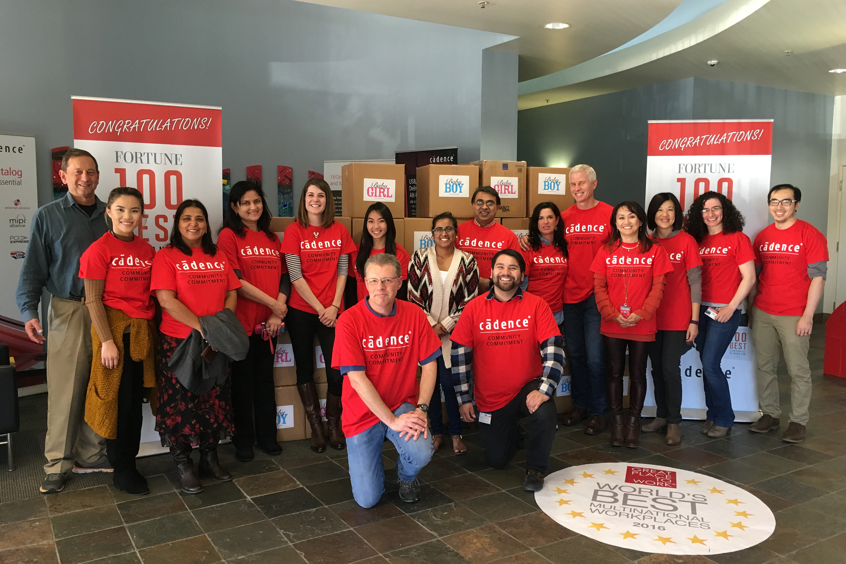 Best Workplaces for Giving Back 2017- Cadence