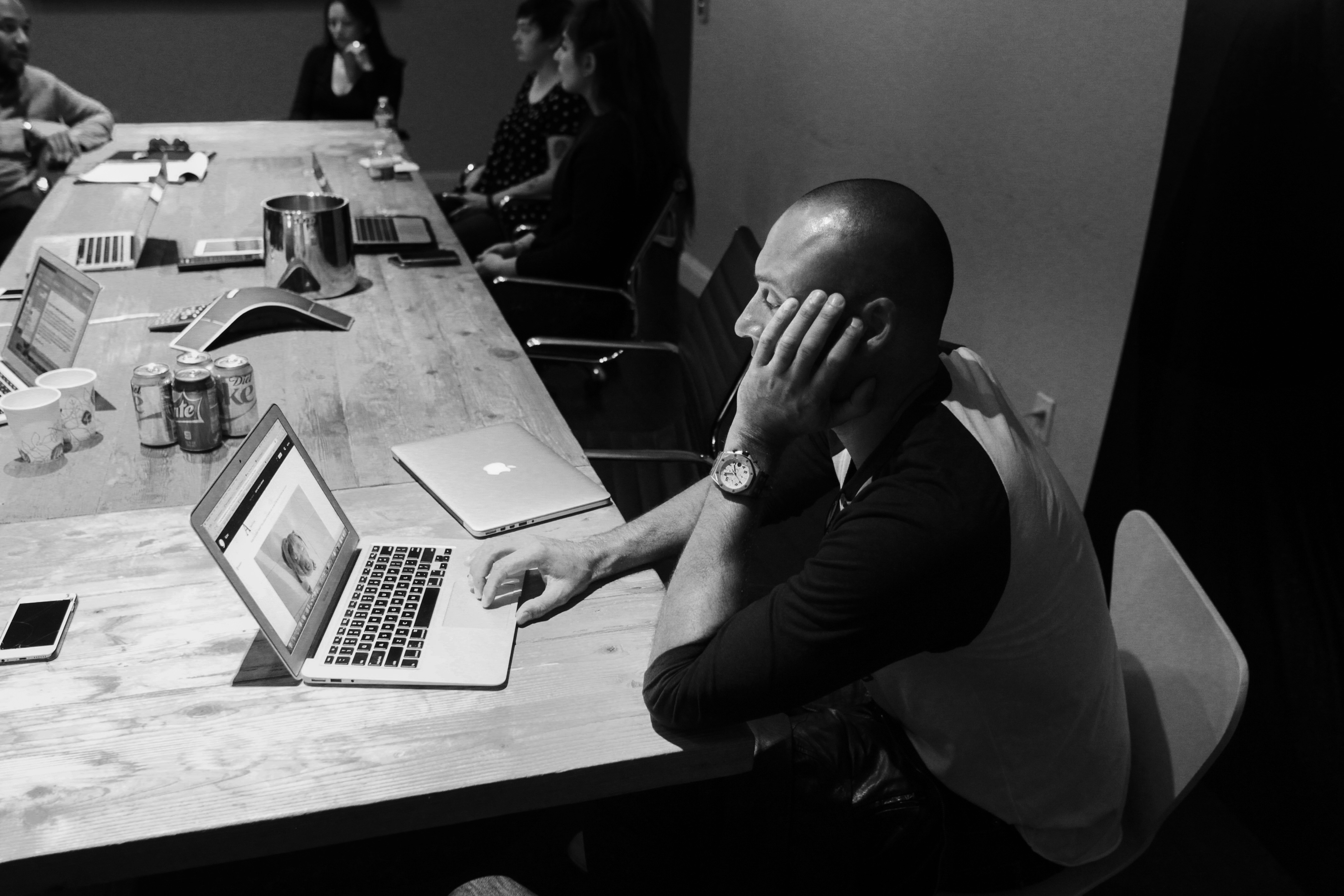 Derek Jeter works at The Players' Tribune offices in New York, NY on November 5, 2015. (Photo by Nate Gordon/The Players' Tribune)