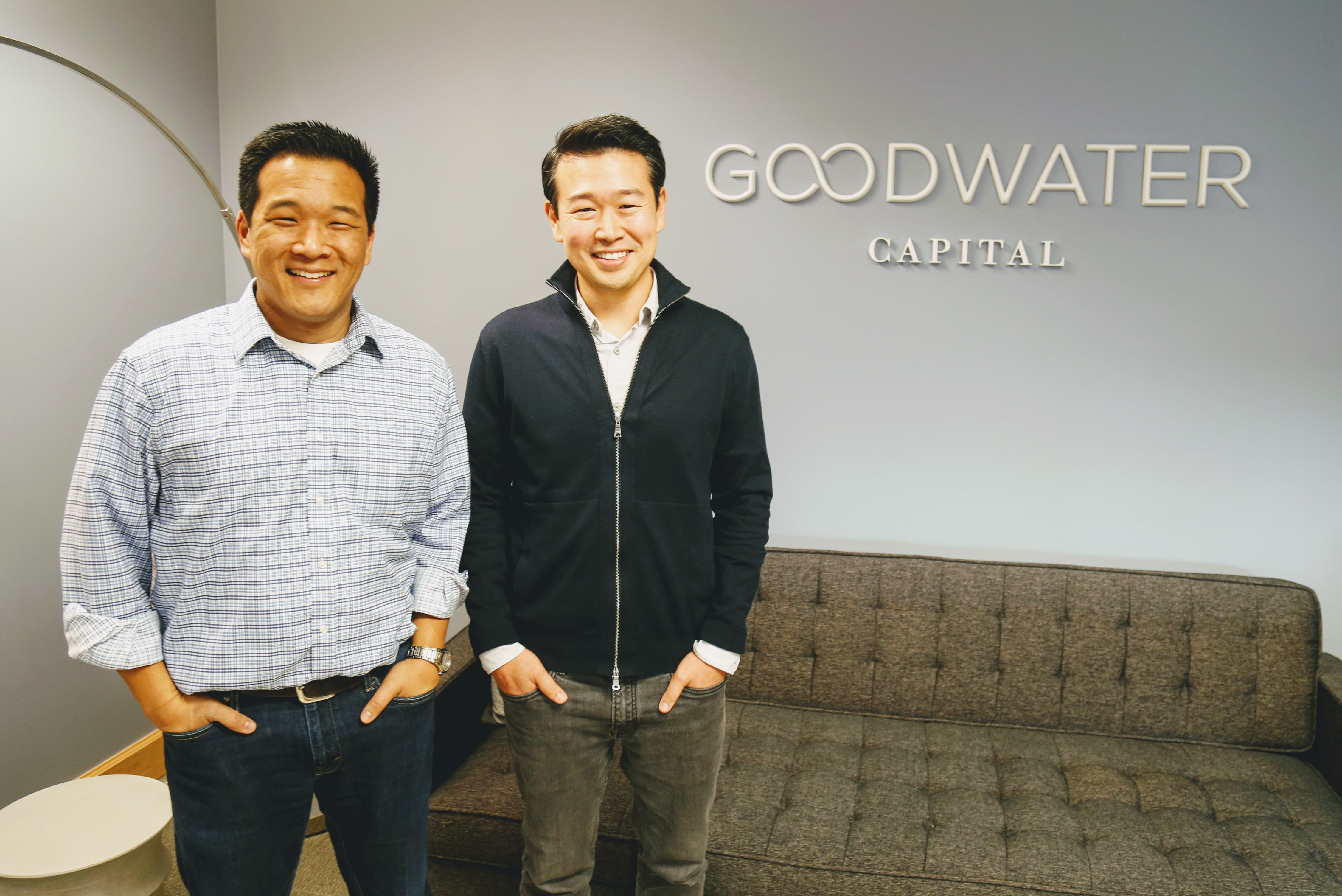 Chi-Hua Chien and Eric Kim of Goodwater Capital.