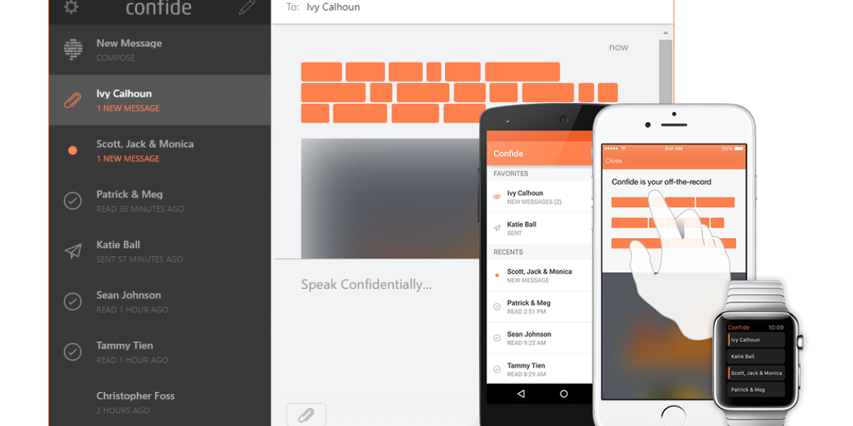 iPhone: Secure Messaging App Confide Can Block Screenshots