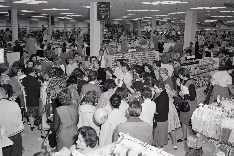 Inside a J.C. Penney Store