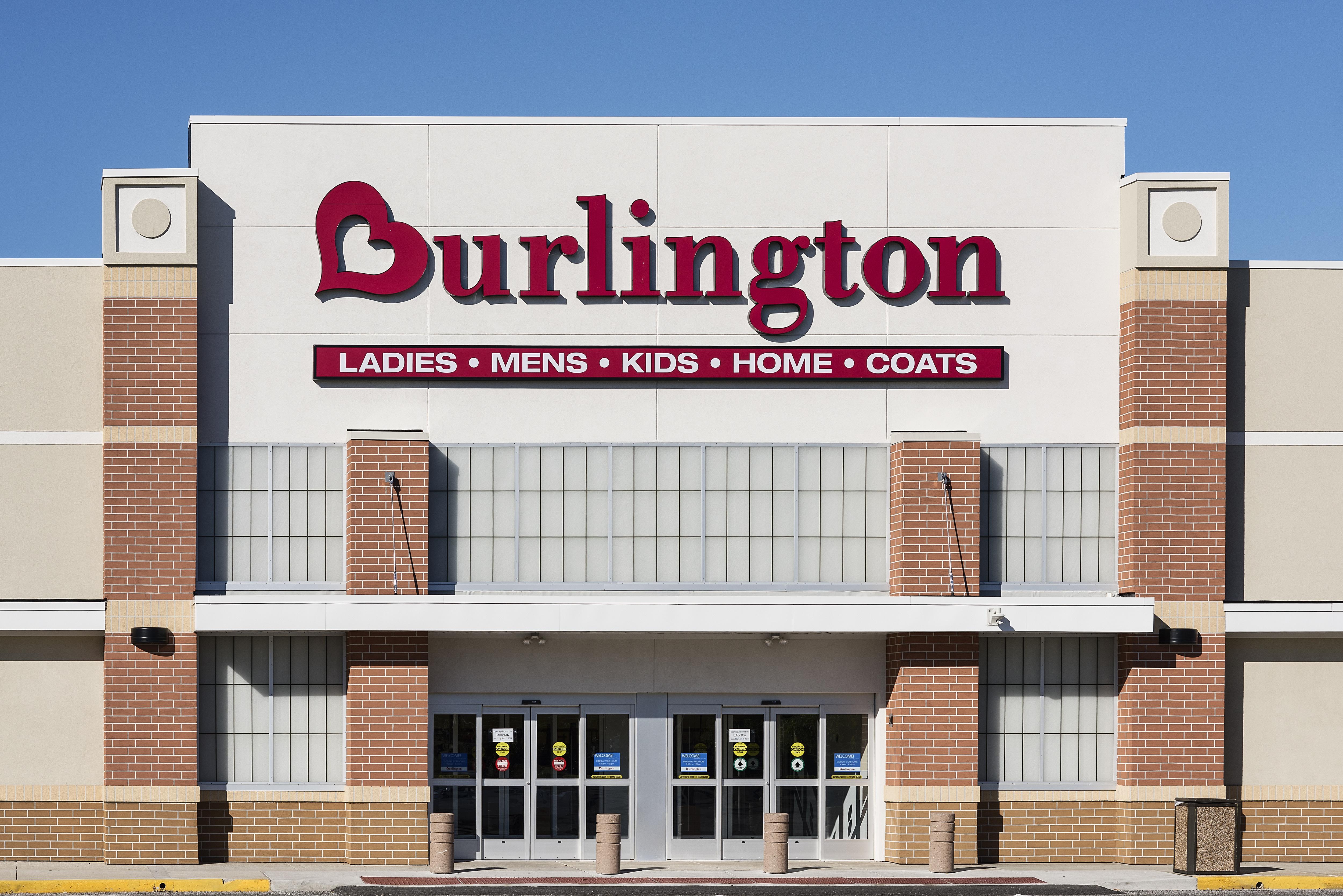 Burlington Coat Factory store exterior