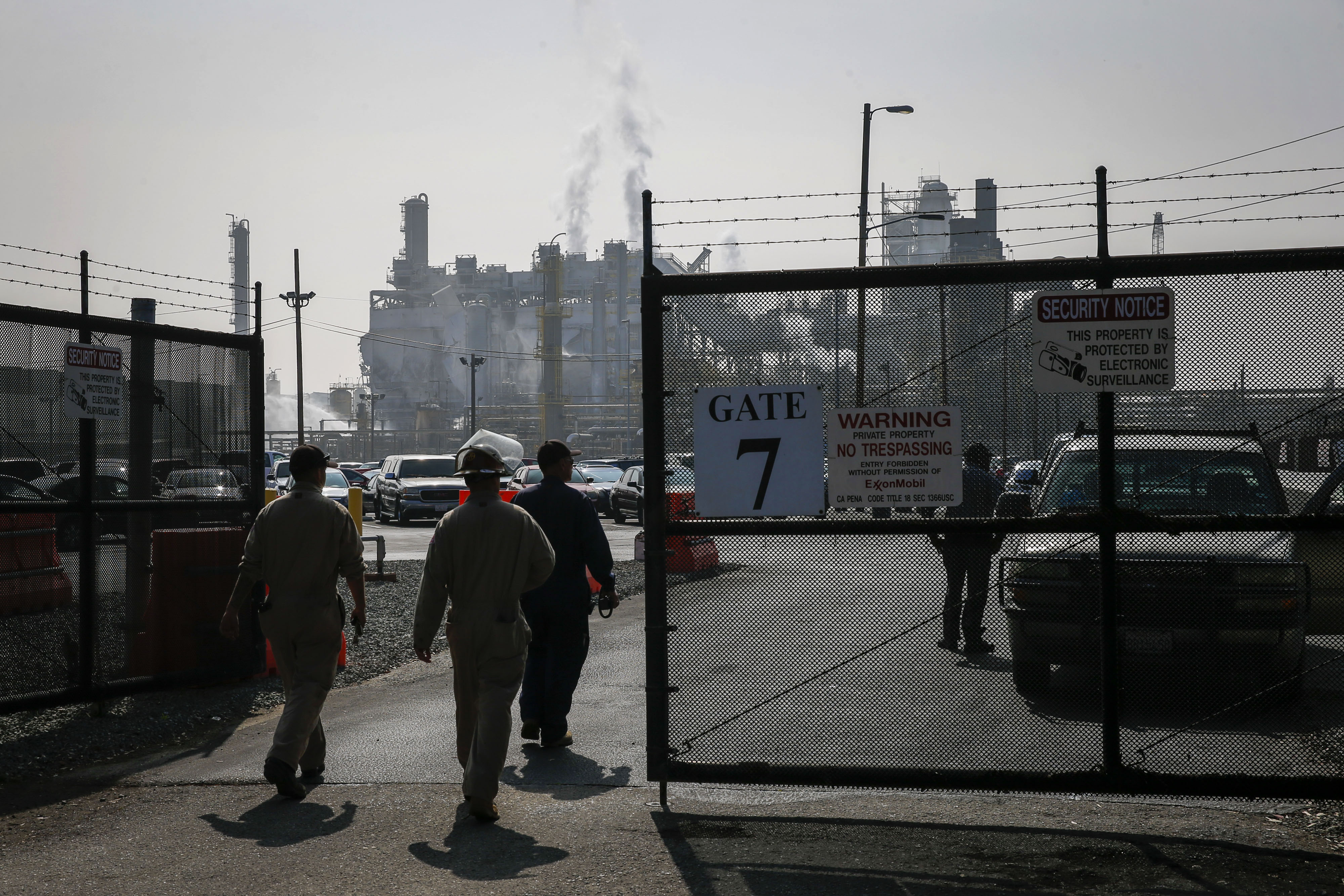 Exxon Mobil Explosion Compounds Fear Of Higher Gas Prices