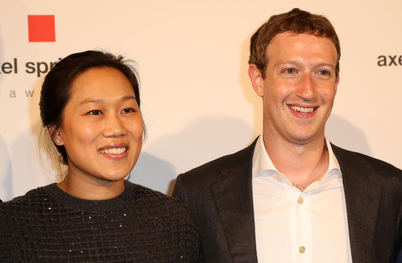 Mark Zuckerberg Awarded With Axel Springer Award In Berlin