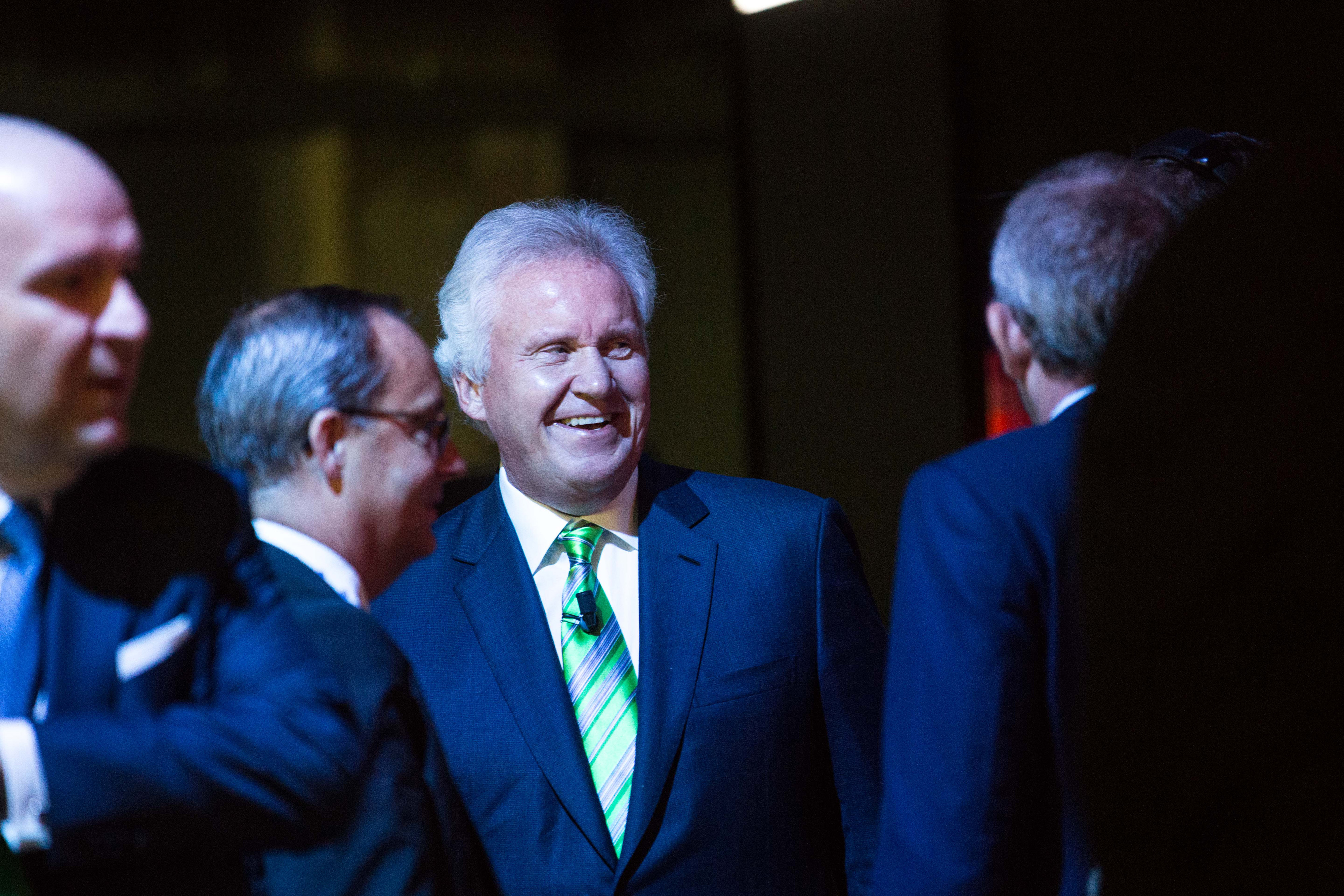 General Electric Co. Chief Executive Officer Jeffrey Immelt Attends Minds + Machines Digital Industry Event