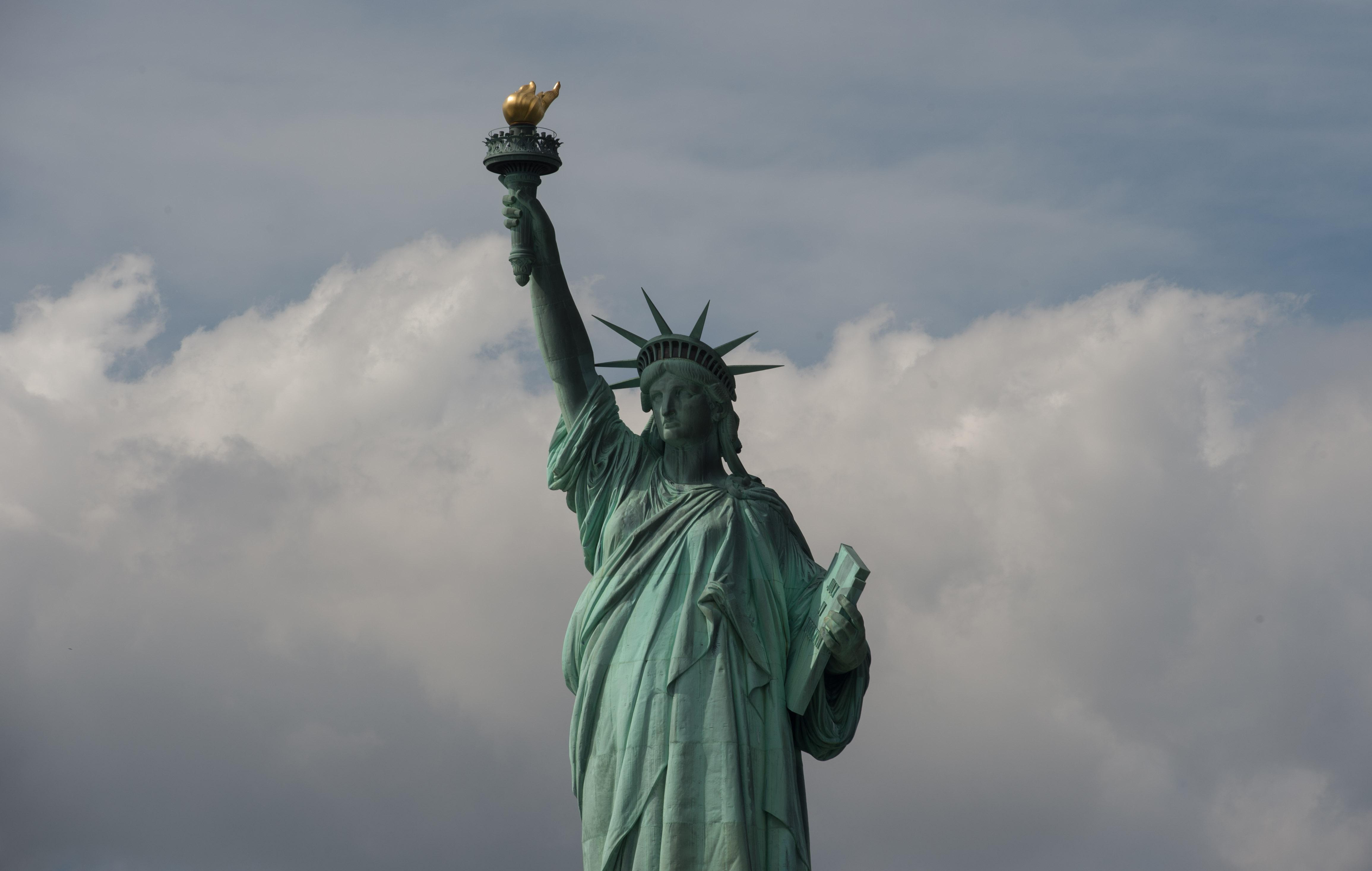 US-LANDMARKS-STATUE OF LIBERTY