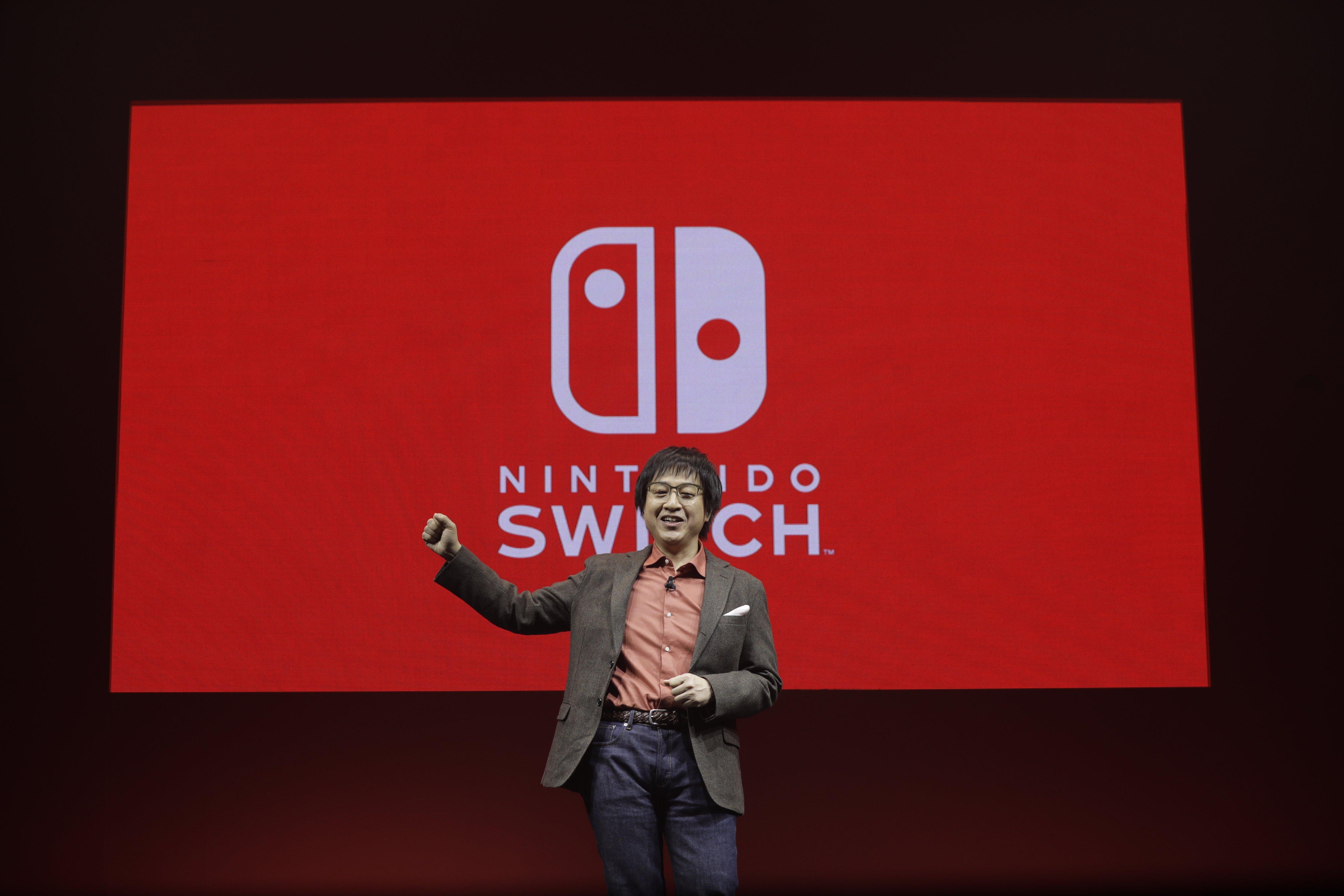 Nintendo Unveils New Game Console Nintendo Switch