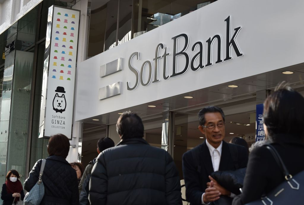 JAPAN-COMPANY-SOFTBANK-EARNINGS