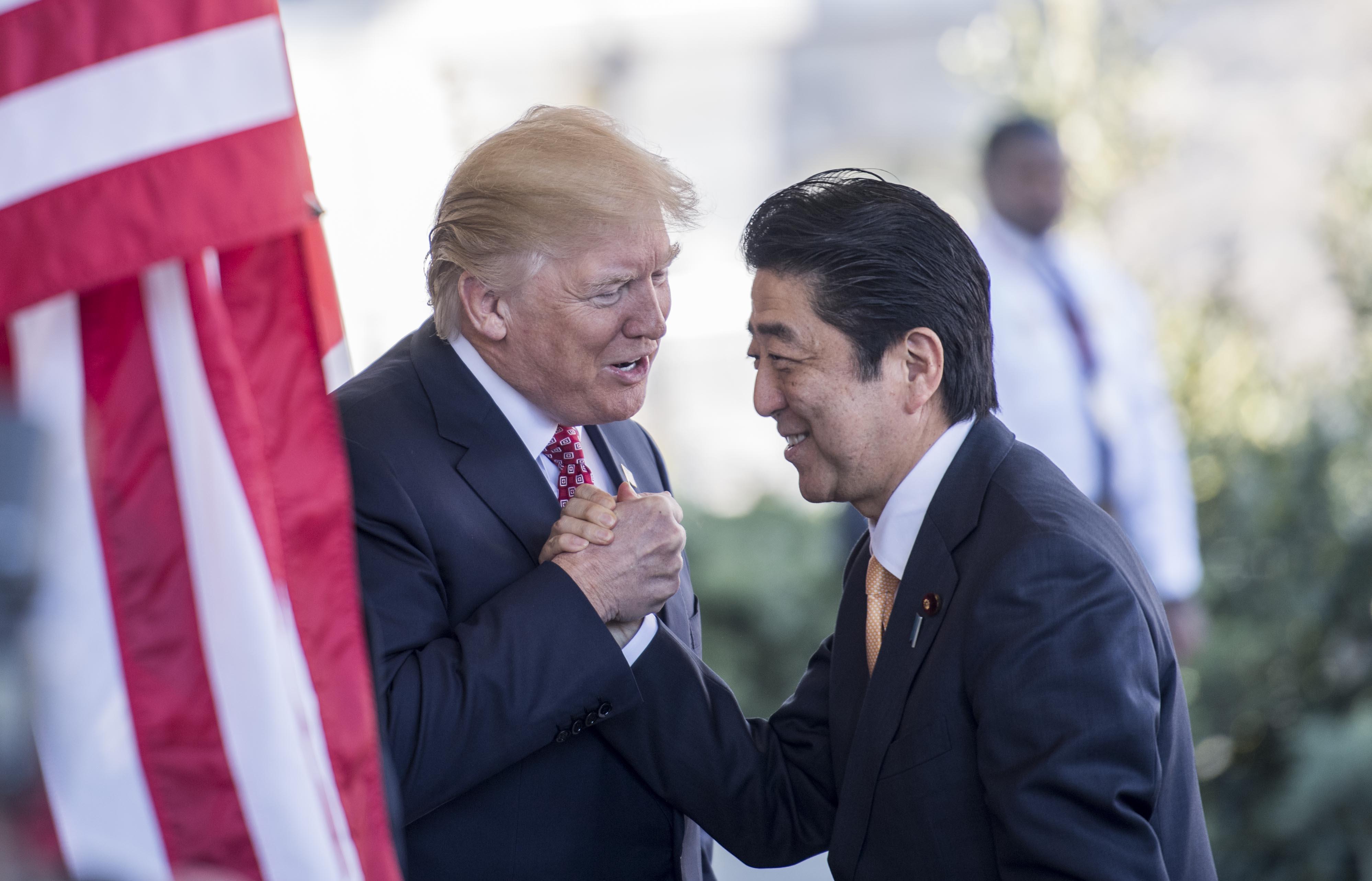 Japanese Prime Minister Shinz Abe