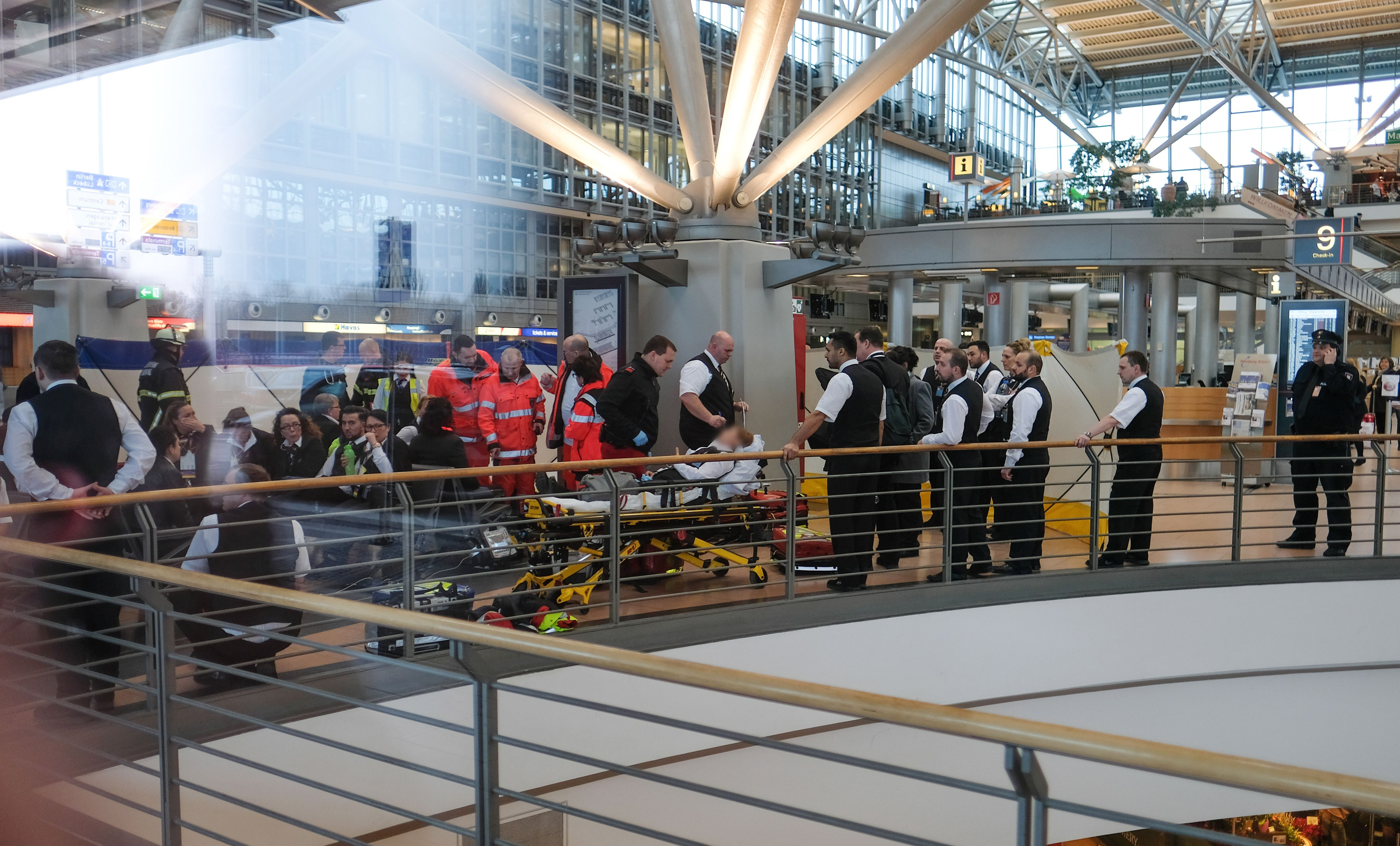 GERMANY-AIRPORT-INCIDENT