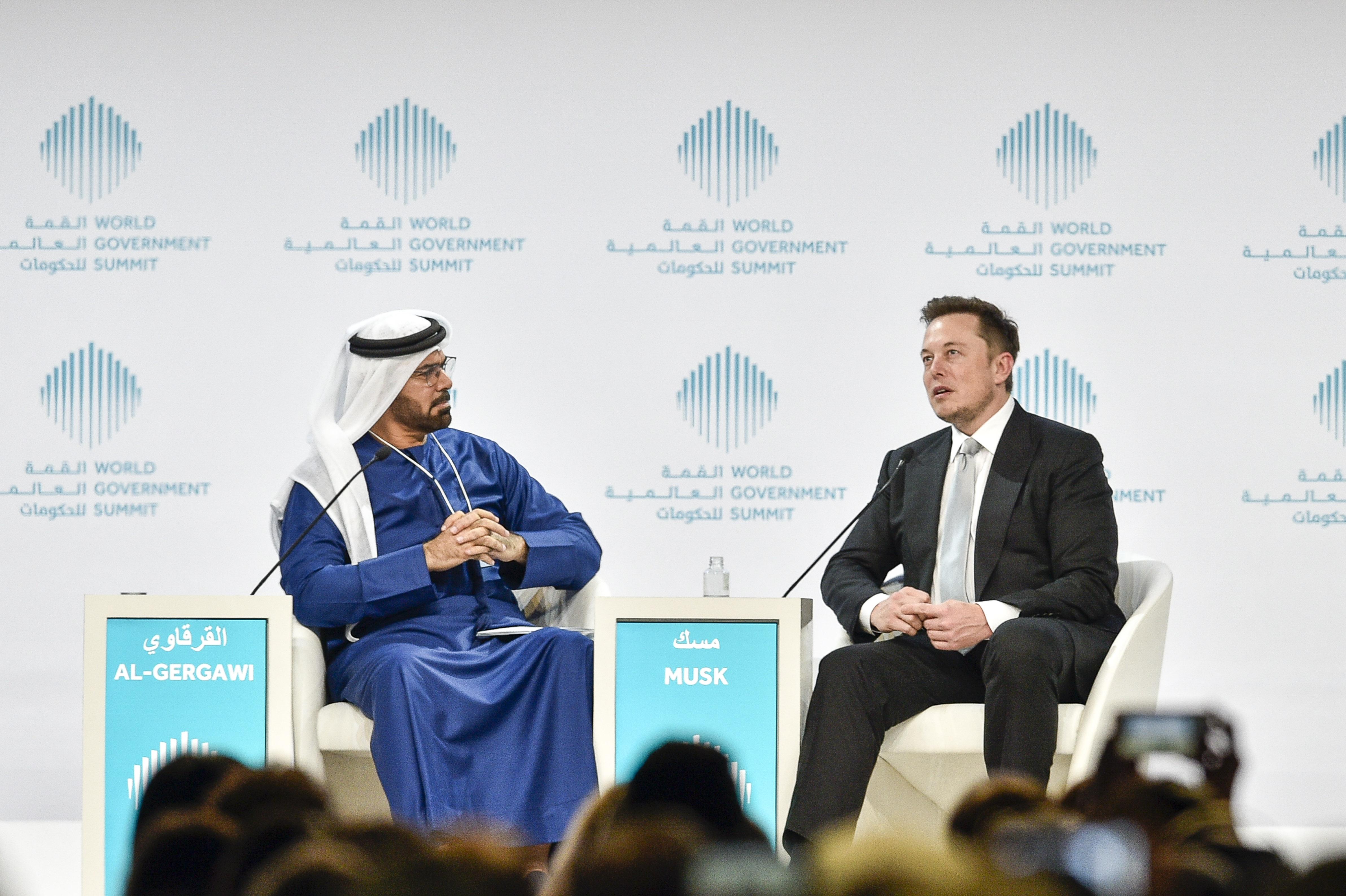 UAE-POLITICS-GOVERNMENT-SUMMIT-TECHNOLOGY-TRANSPORT