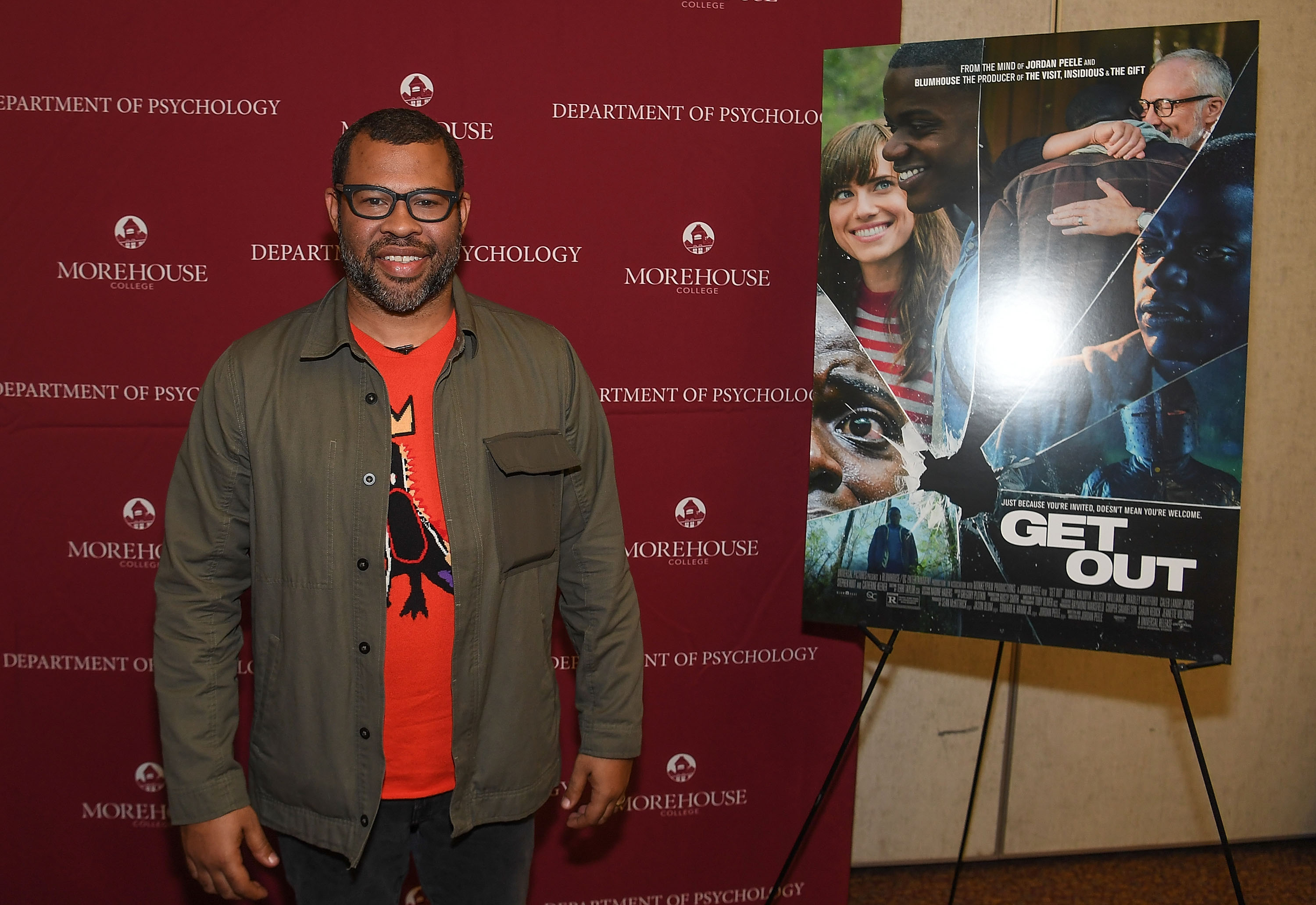 """Get Out"" Q&A With Jordan Peele"