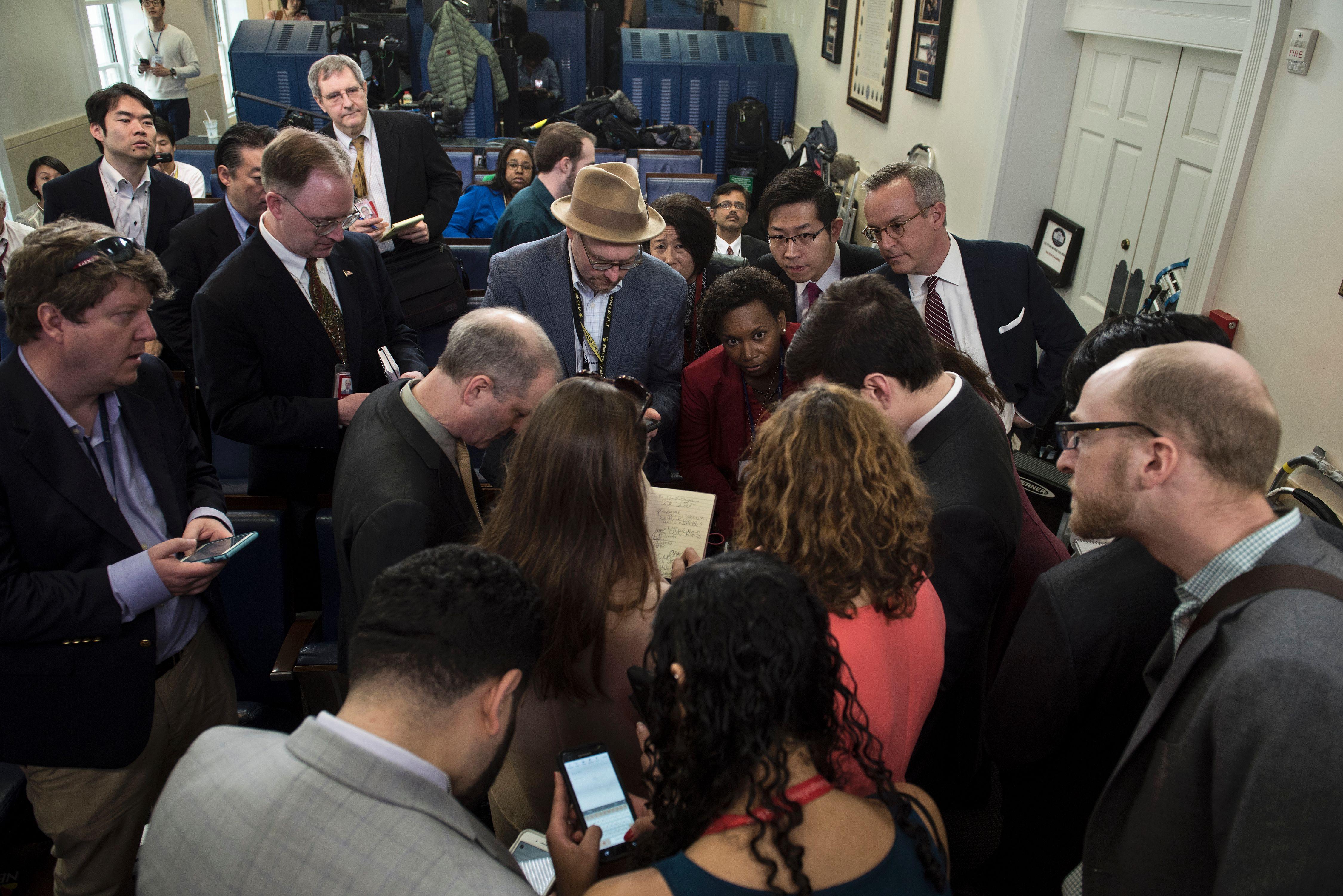 US-POLITICS-MEDIA-BRIEFING