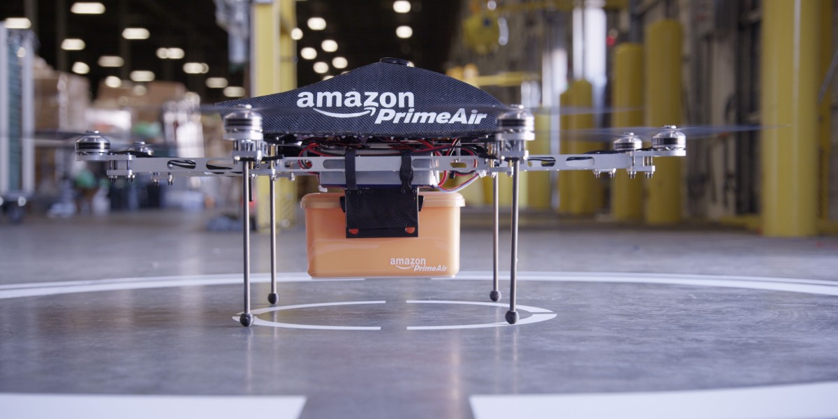 Amazon Says Its Delivery Drones Won't Crash Into You or Your Clotheslines. Here's Why