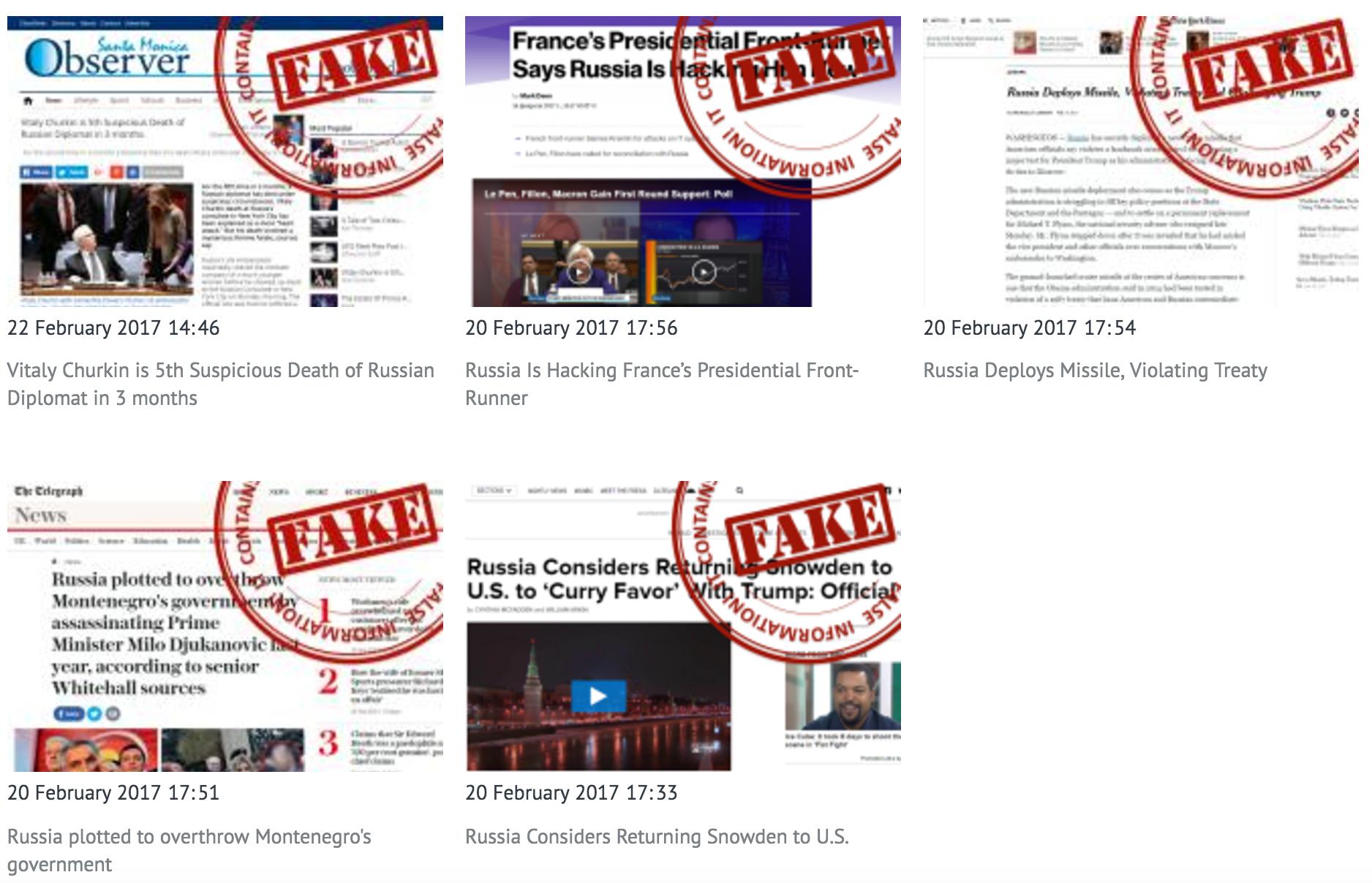 Russia Fake News Website Unveiled To Identify False Media