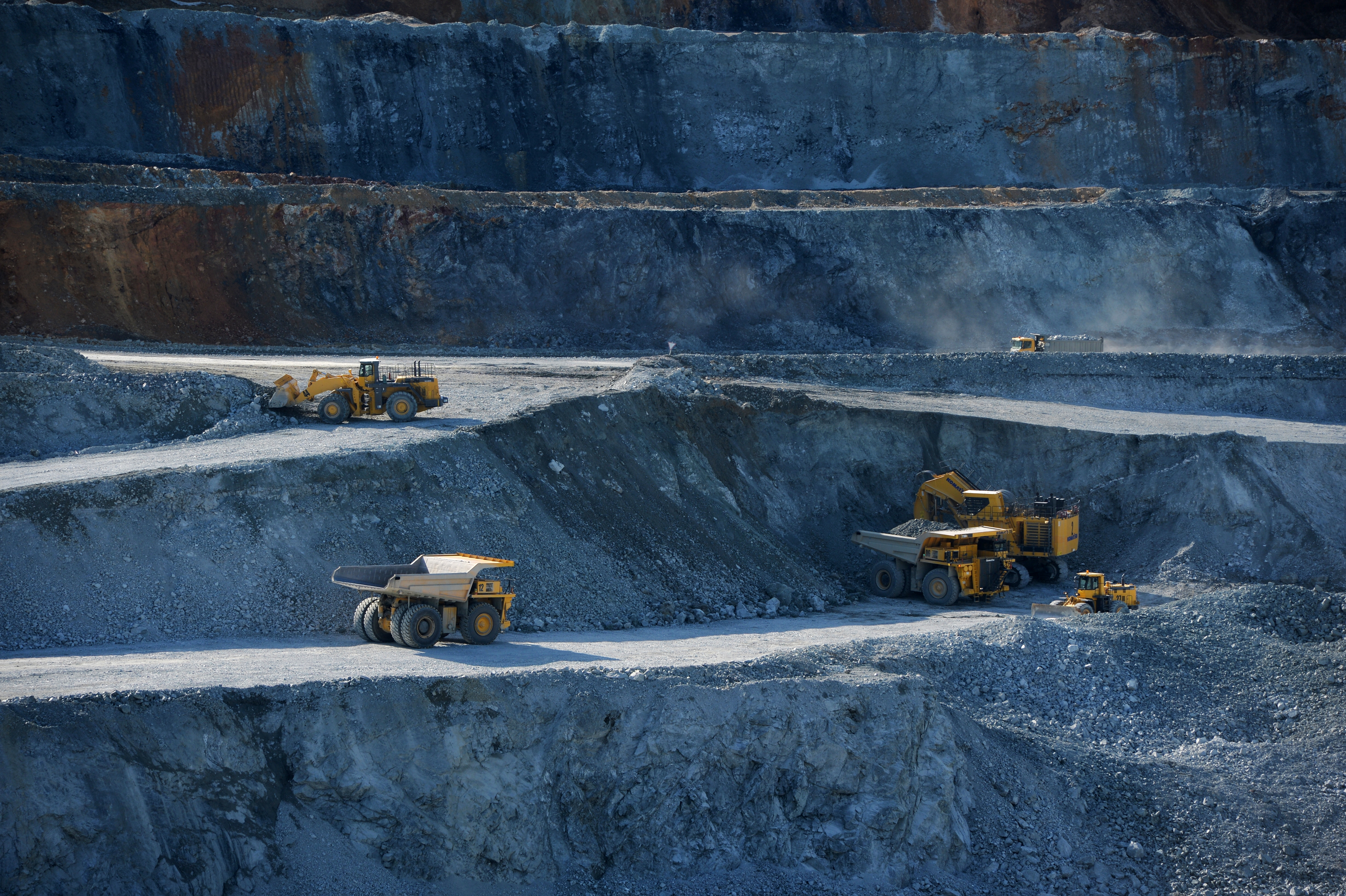 Mikheyevsky Ore Mining and Processing Works in Chelyabinsk Region