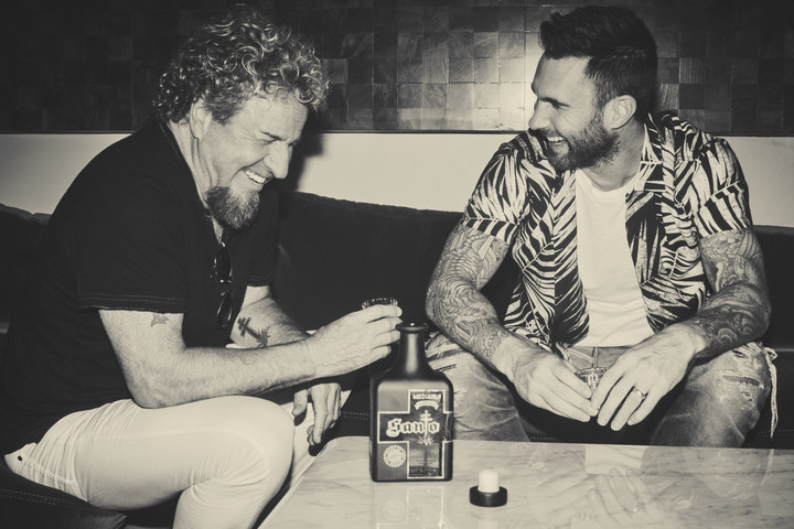 """Singers Sammy Hager and Adam Levine have launched a """"Mezquila,"""" a blend of the processes used to make two Mexican-produced liquors: tequila and mezcal."""